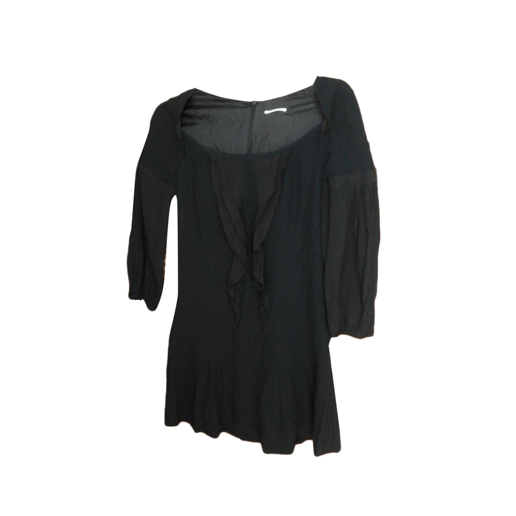 Robe courte CHATTAWAK Noir