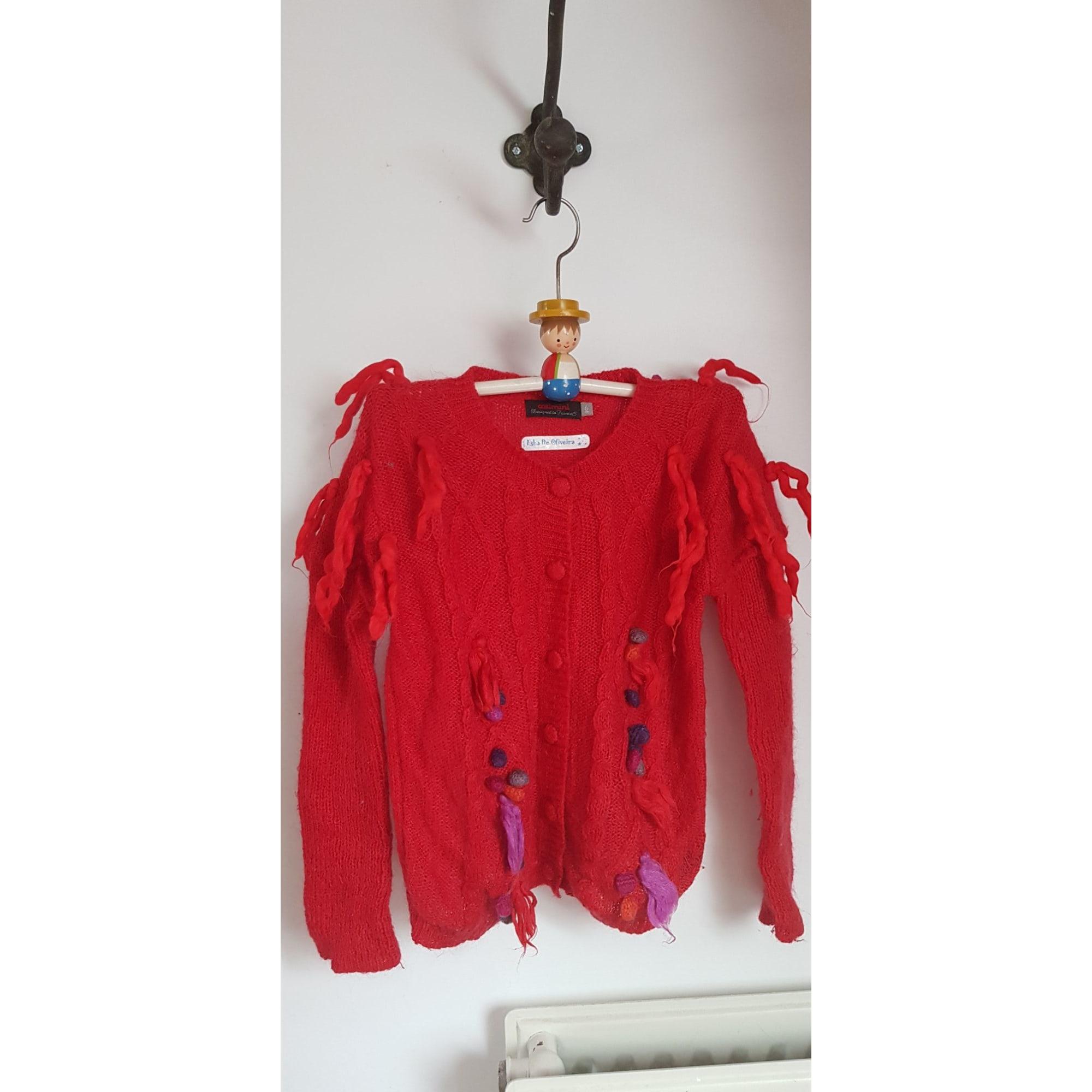 Gilet, cardigan CATIMINI Rouge, bordeaux