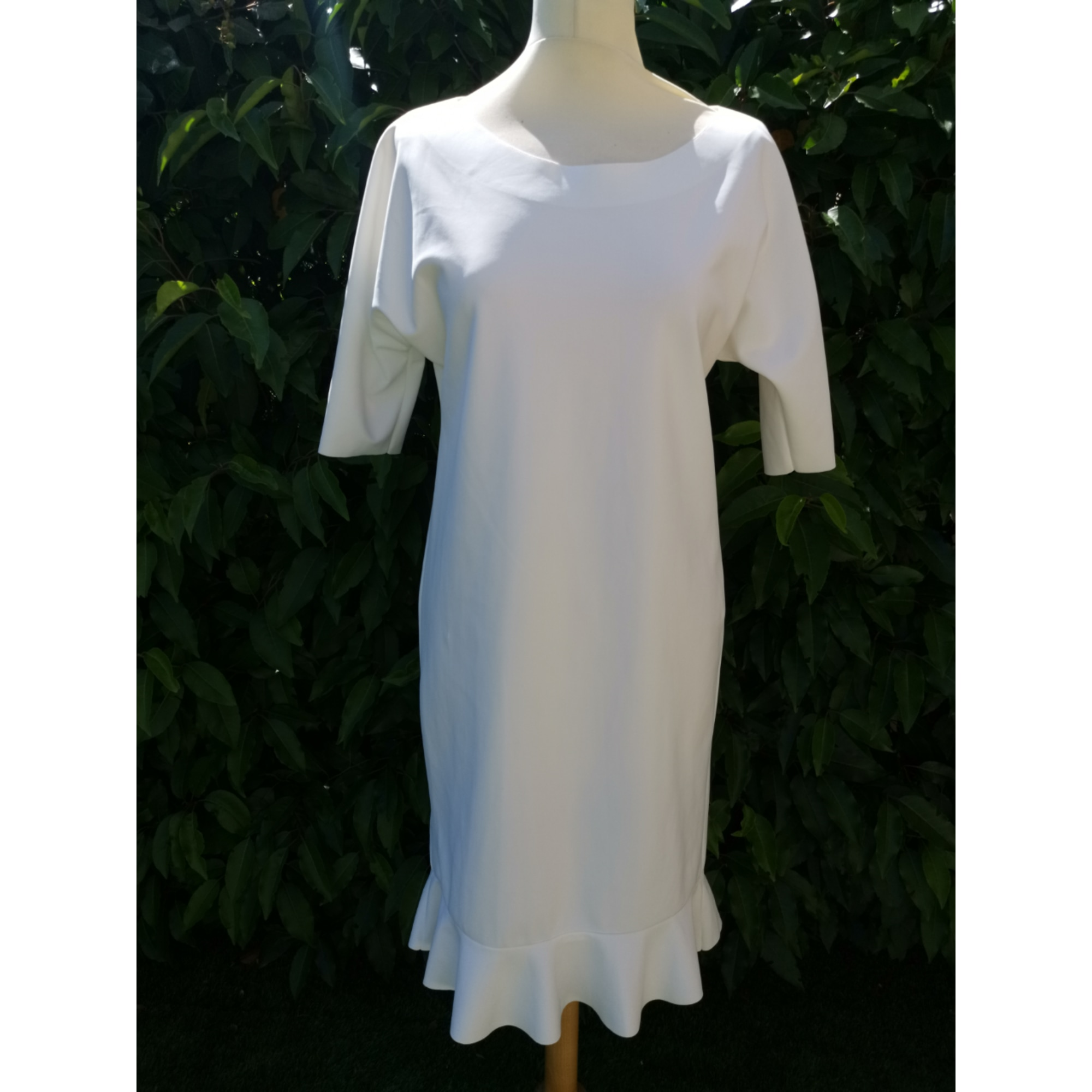 Robe mi-longue IRIÉ Blanc, blanc cassé, écru