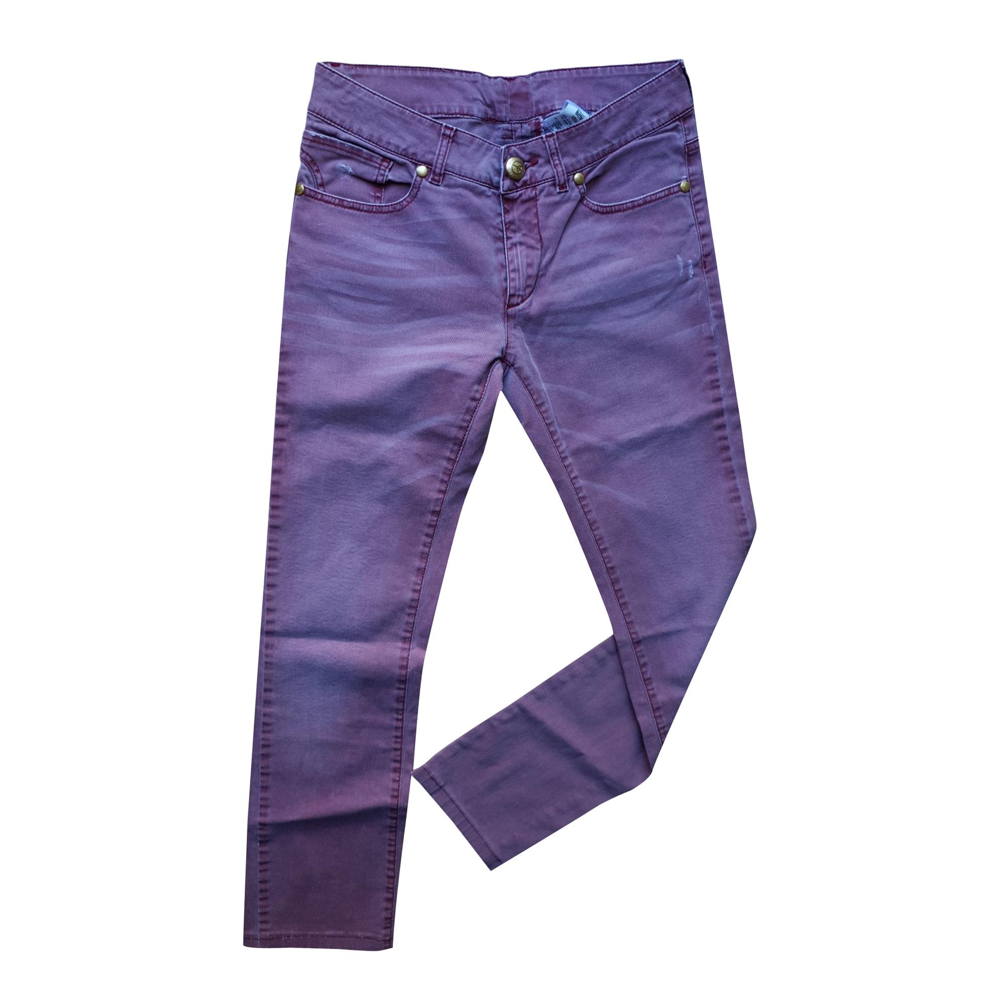 Jeans slim LOVE MOSCHINO Bleu, bleu marine, bleu turquoise