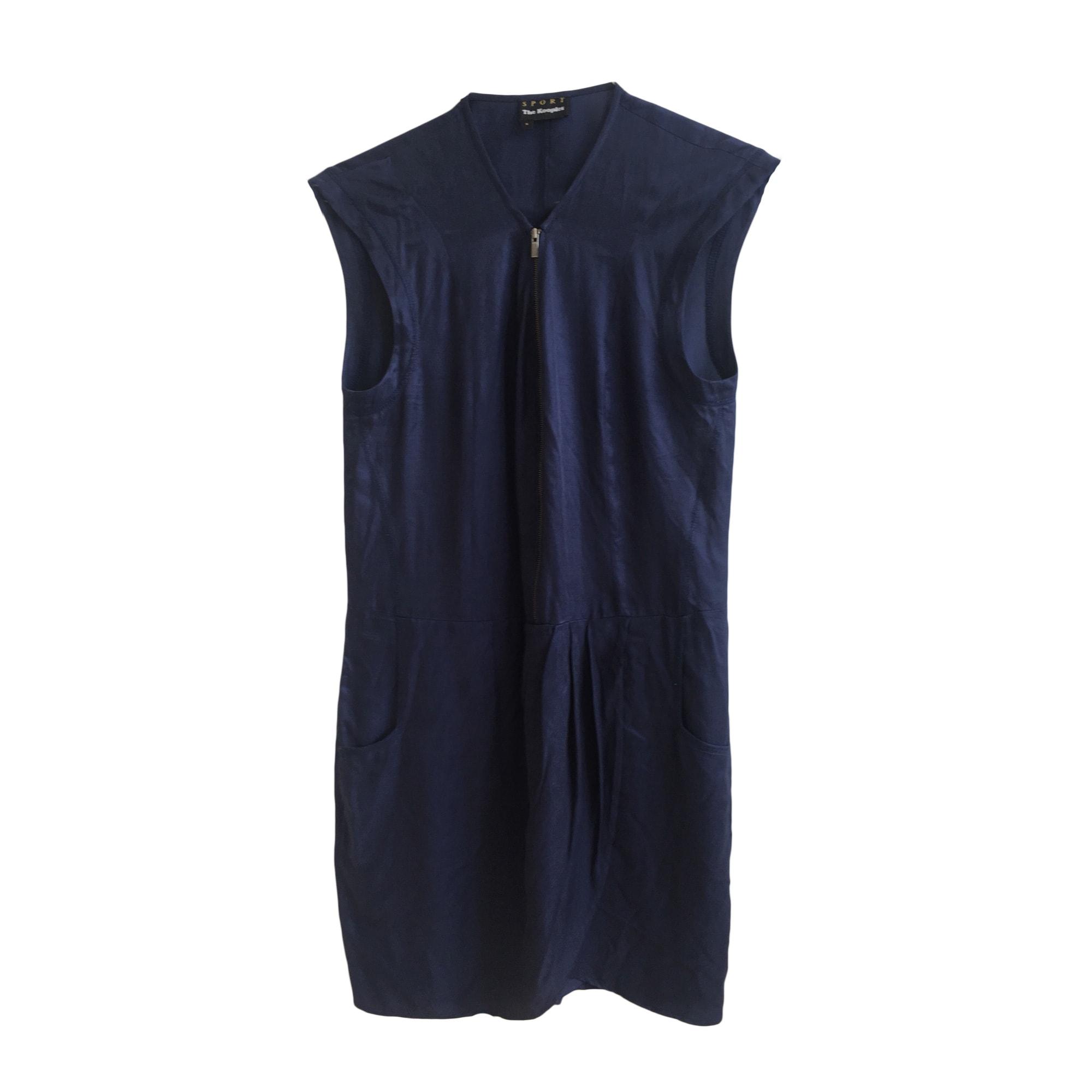 Robe courte THE KOOPLES Bleu, bleu marine, bleu turquoise