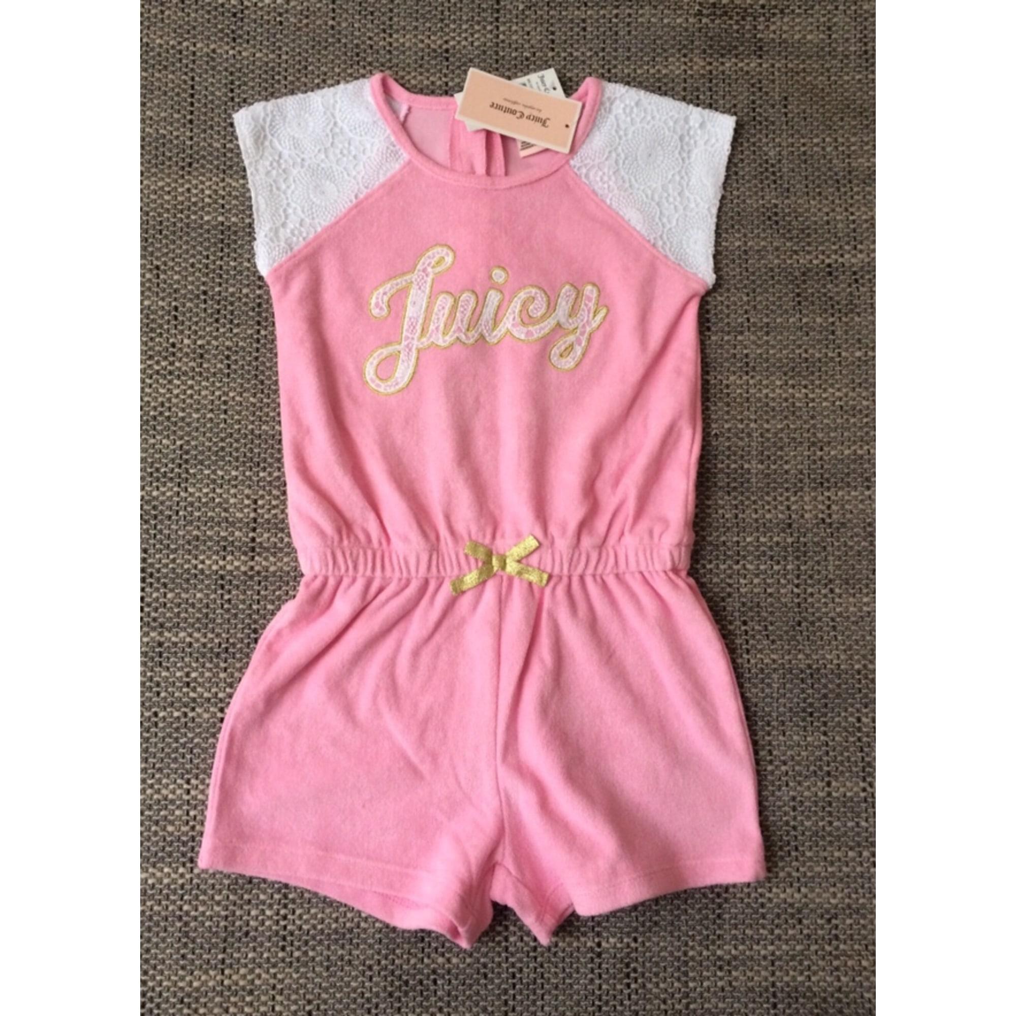 Anzug, Set für Kinder, kurz JUICY COUTURE Pink,  altrosa
