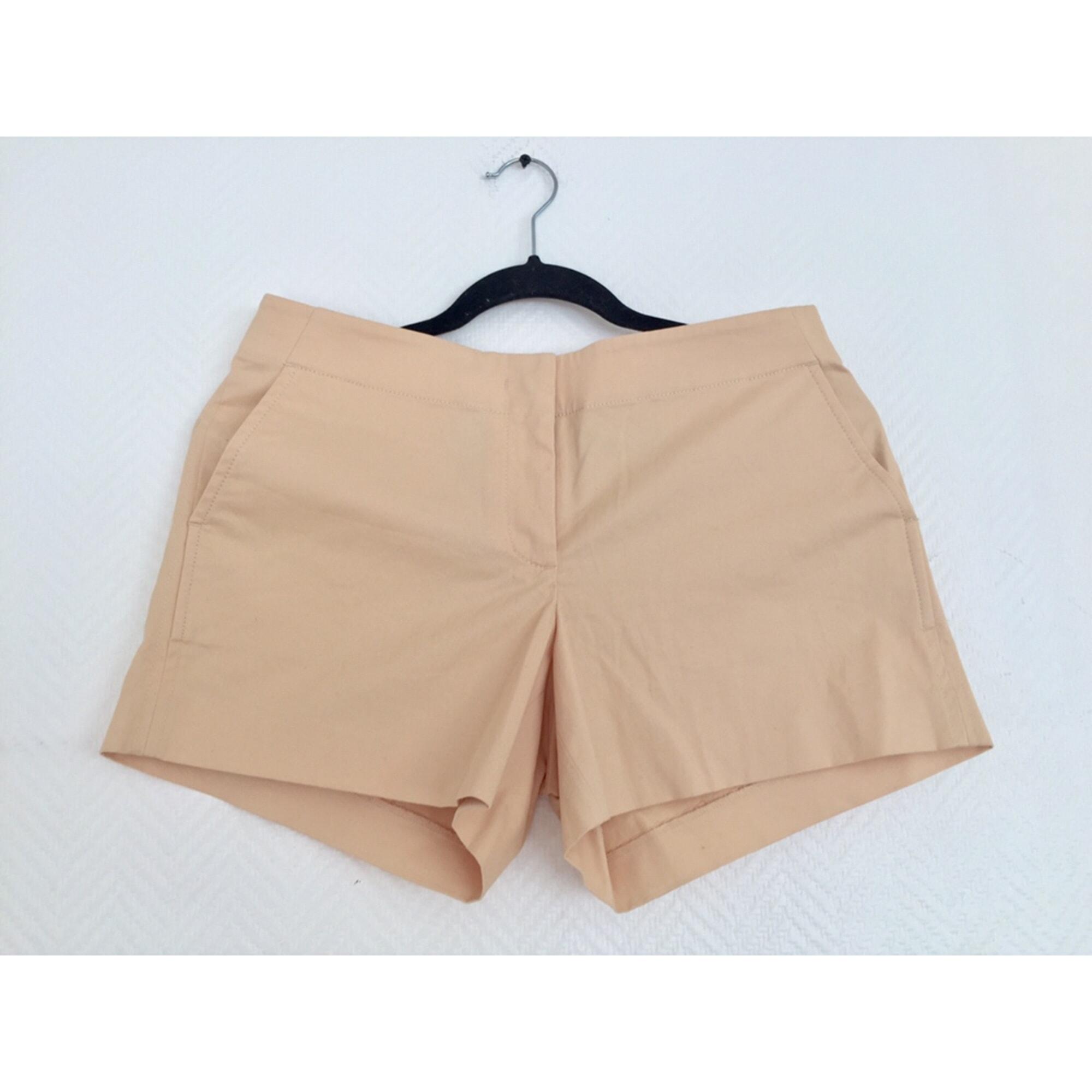 Short J CREW Orange nude