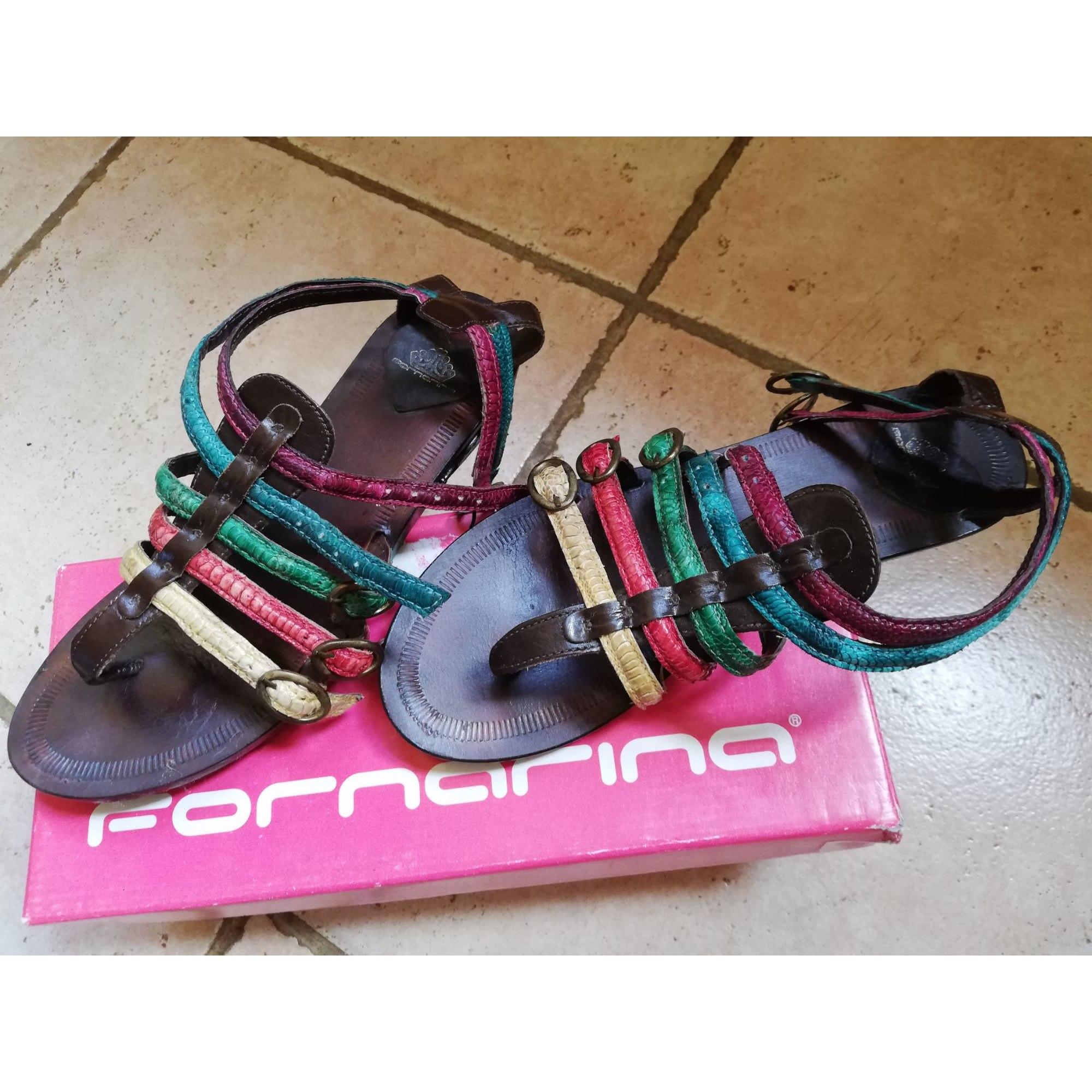 Sandales plates  FORNARINA Multicouleur
