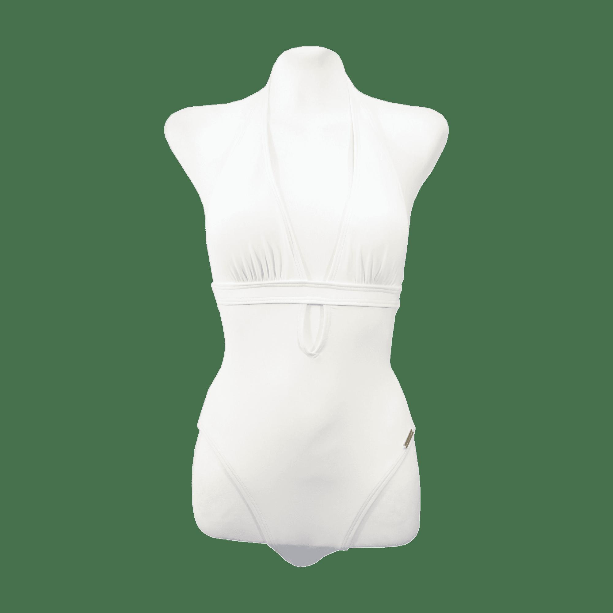Maillot de bain une-pièce MICHAEL KORS Blanc, blanc cassé, écru