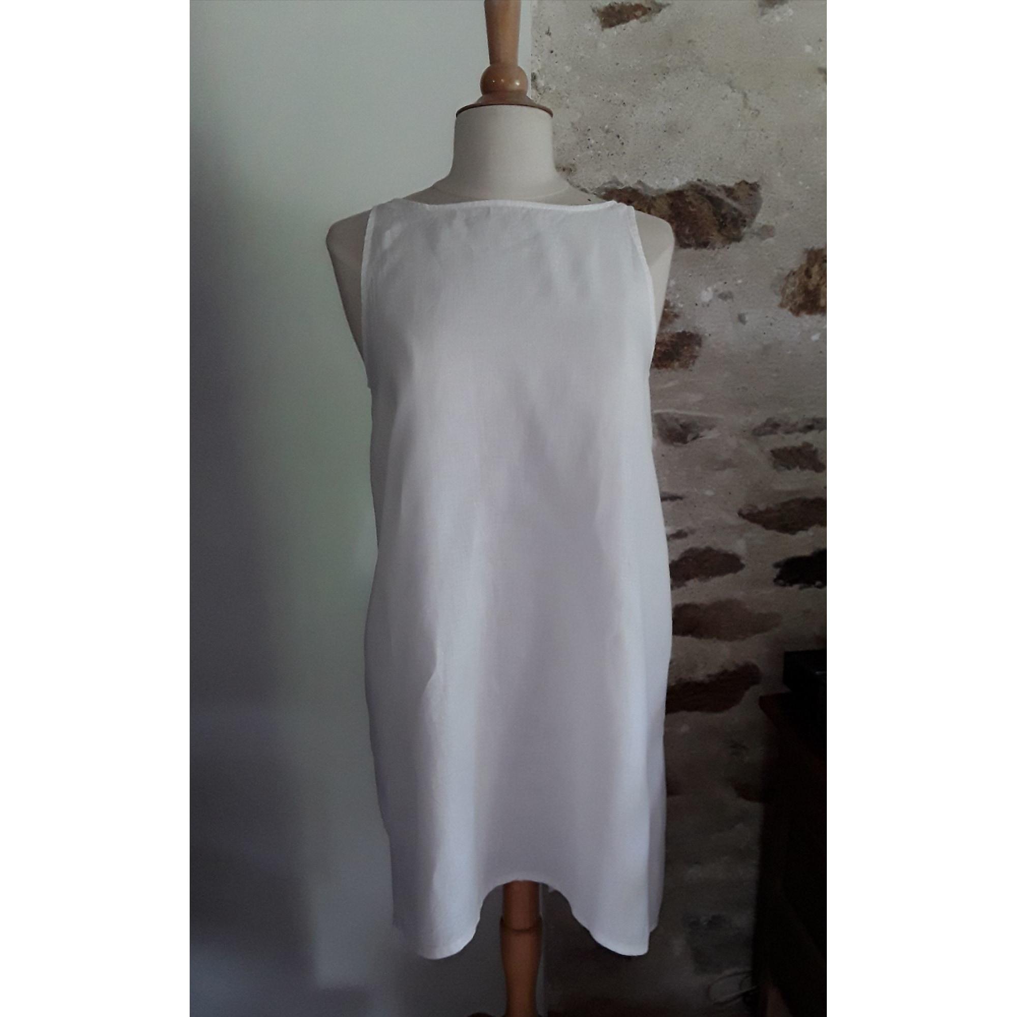 Tunique SARAH PACINI Blanc, blanc cassé, écru