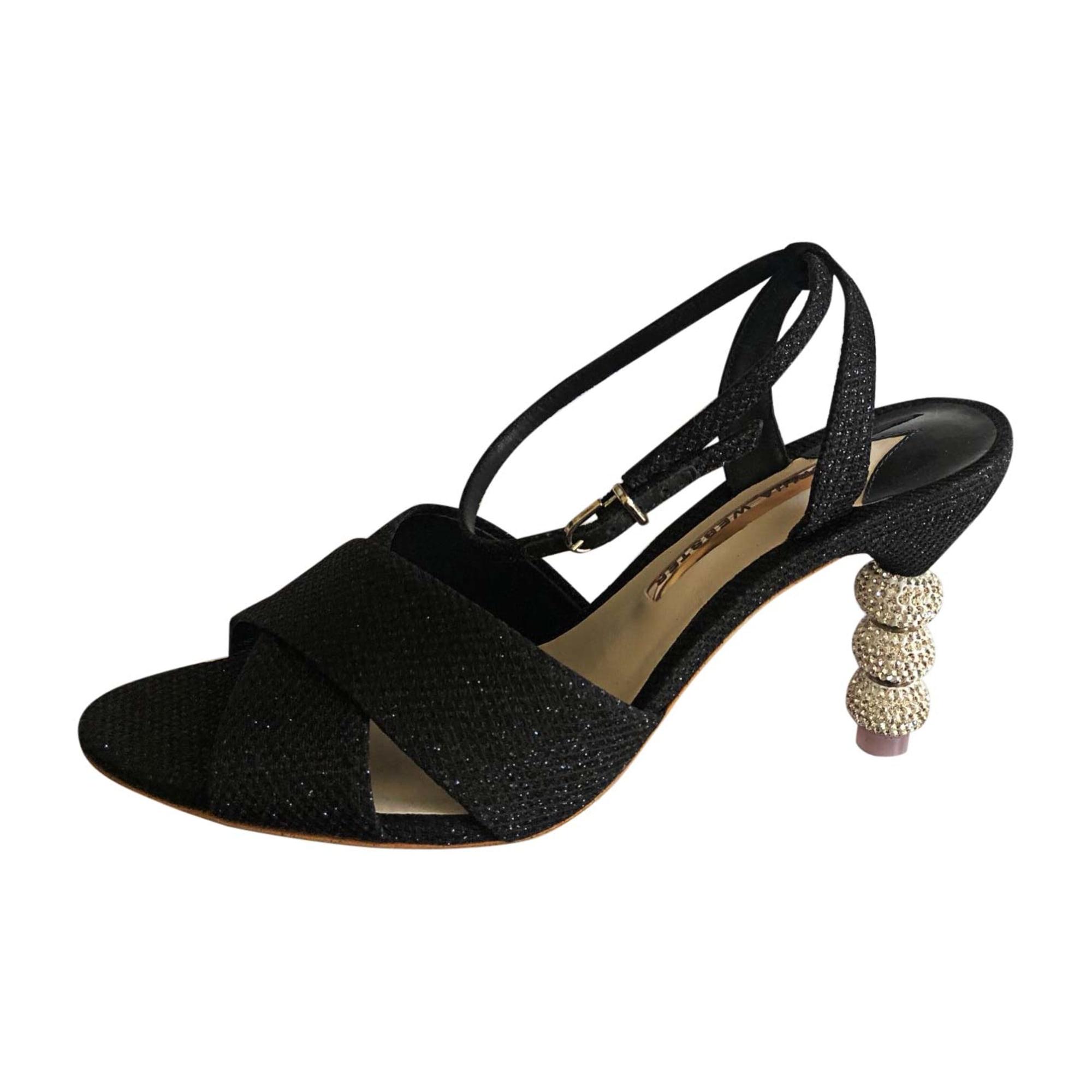Sandales à talons SOPHIA WEBSTER Noir