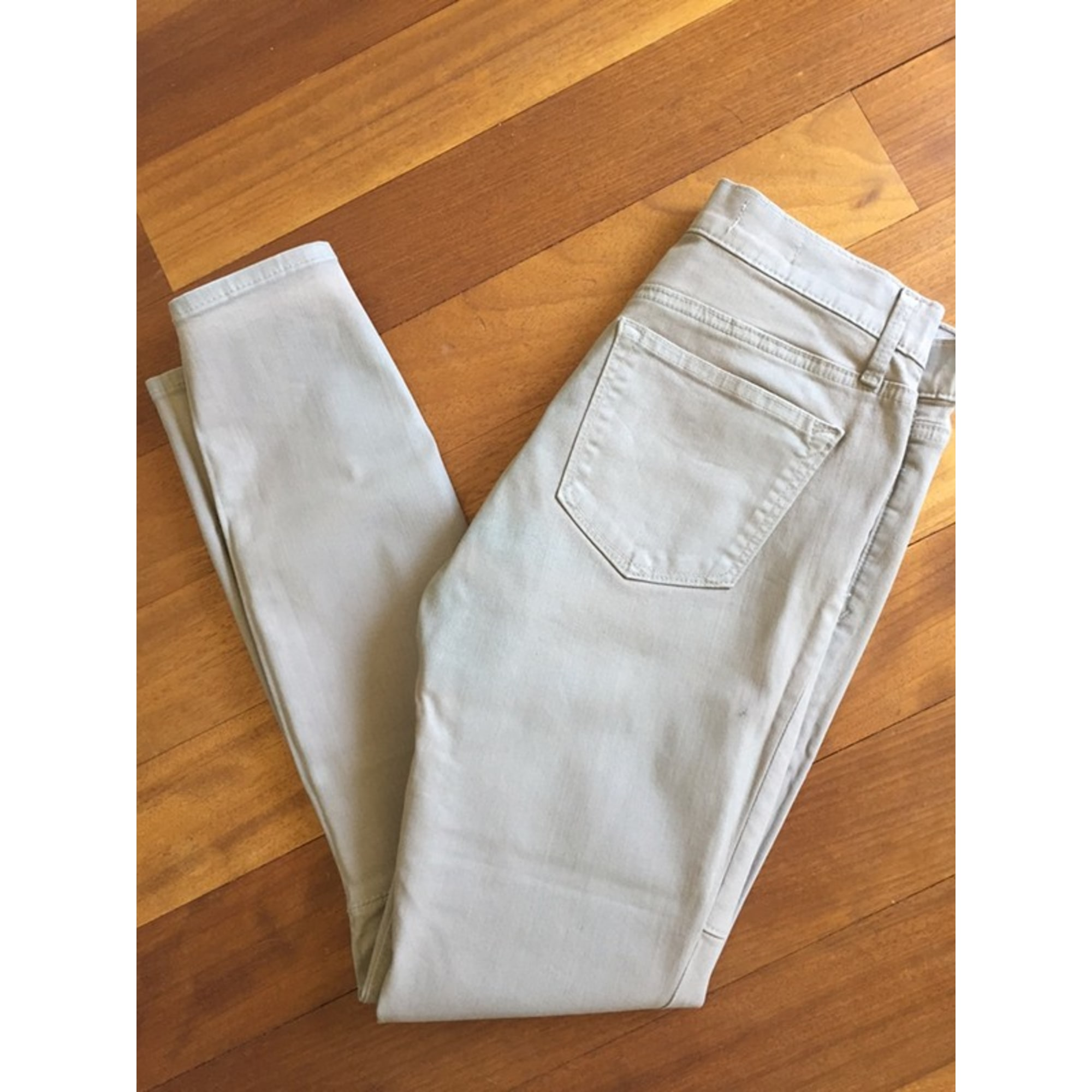Jeans slim PULL & BEAR Gris, anthracite