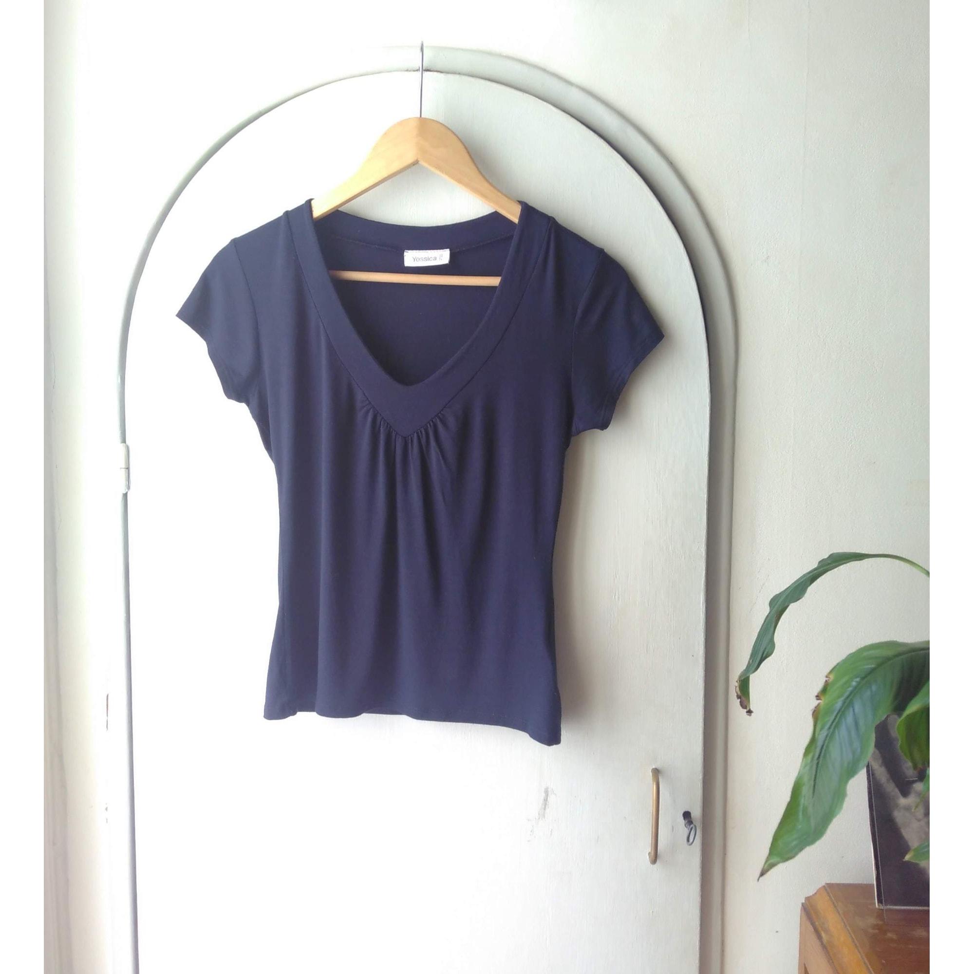 Top, tee-shirt YESSICA Violet, mauve, lavande