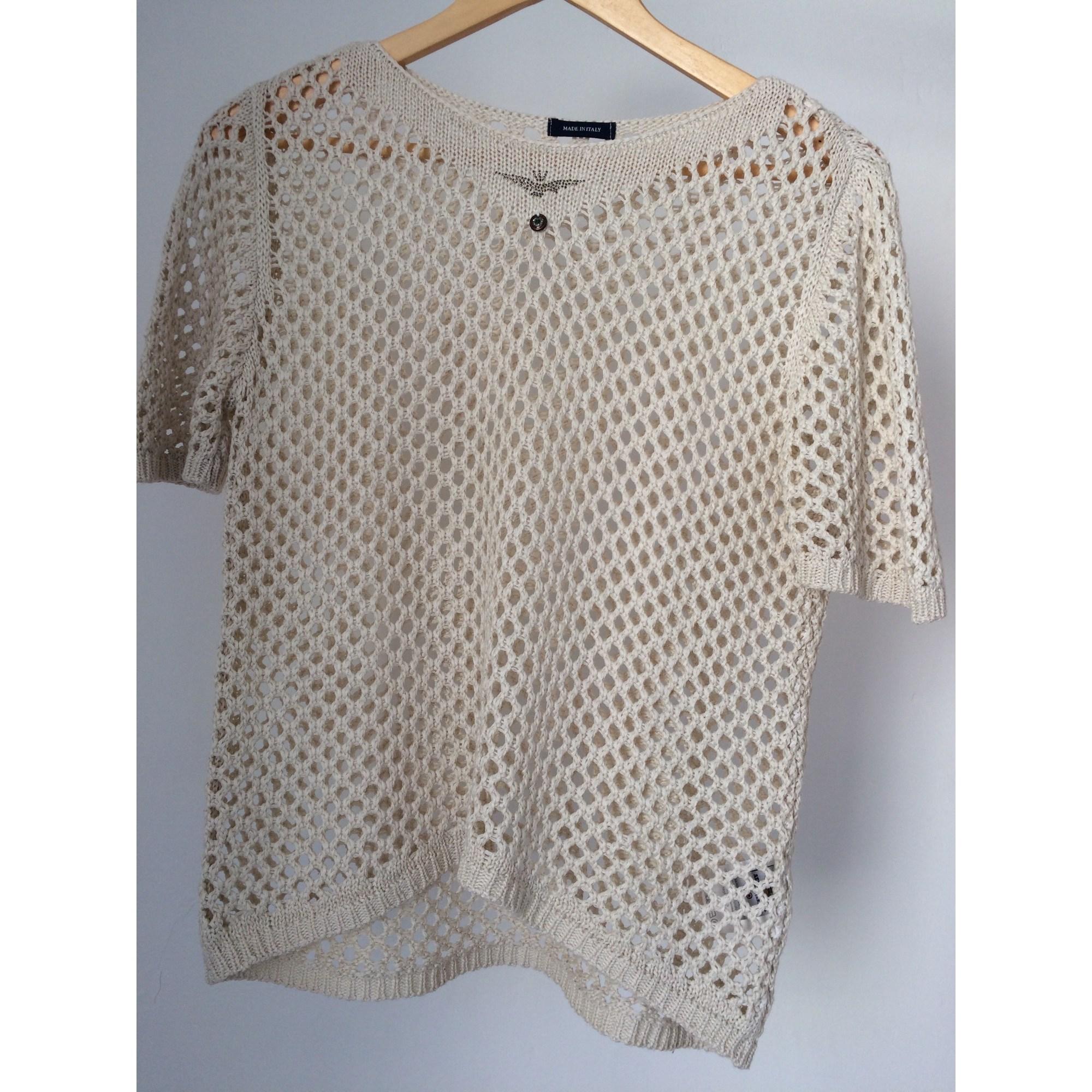 Top, tee-shirt AERONAUTICA MILITARE Beige, camel