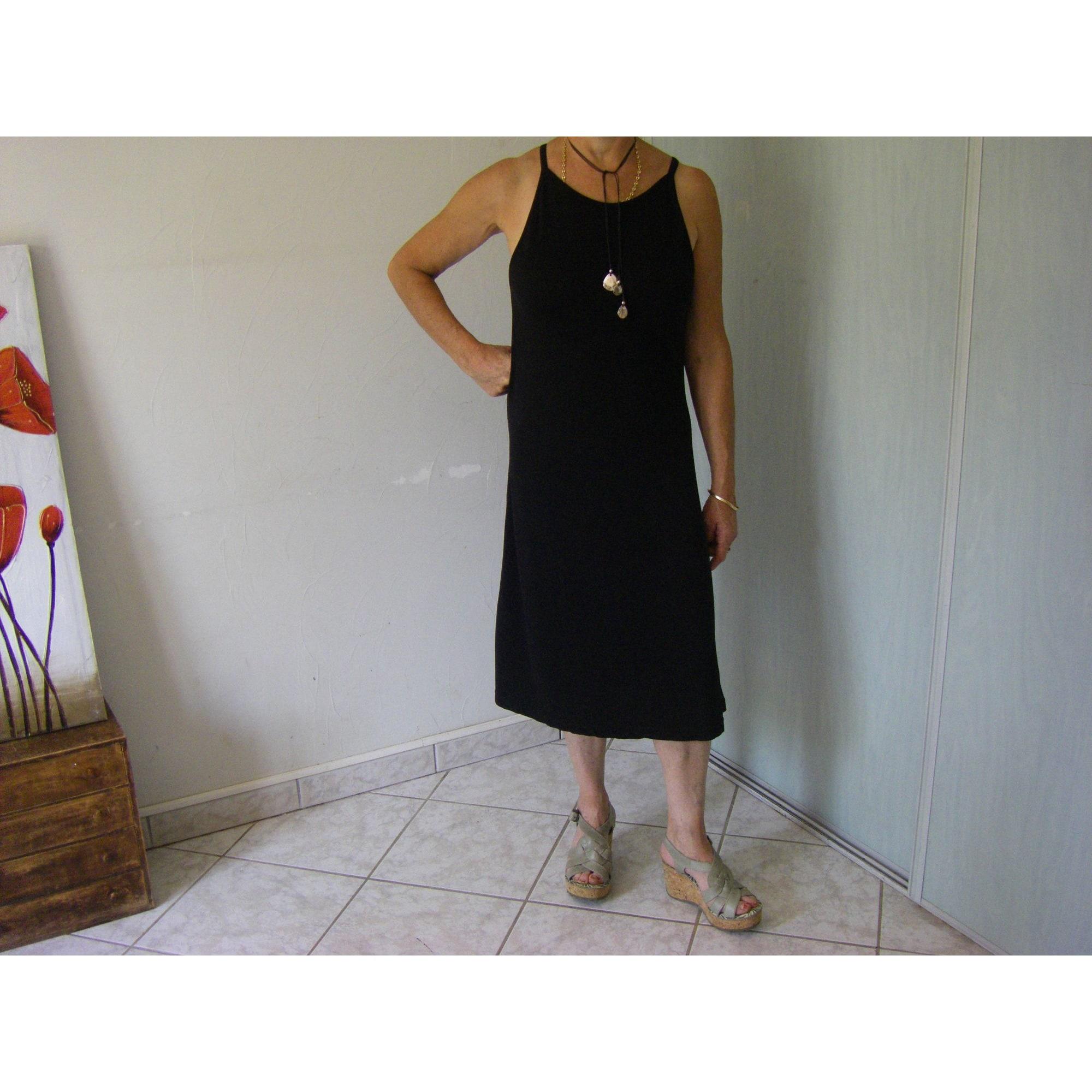 Robe mi-longue GUESS Noir