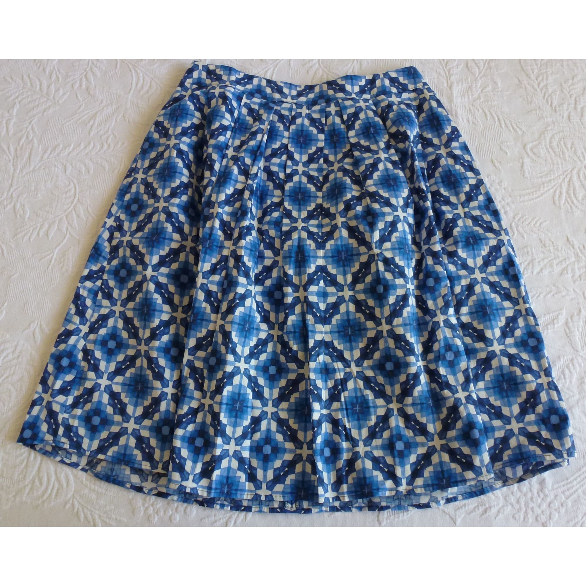 Jupe mi-longue ESPRIT Bleu, bleu marine, bleu turquoise