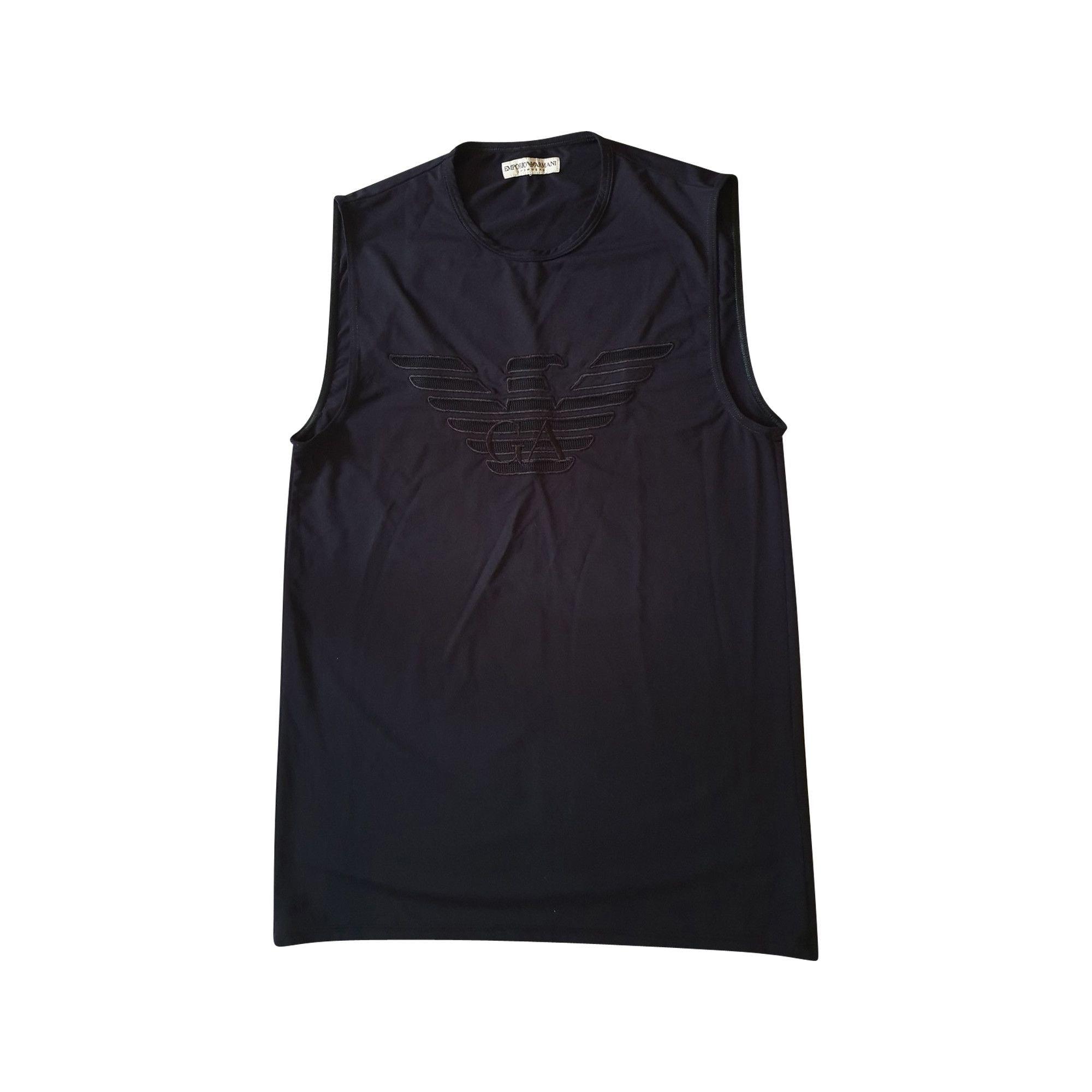 Top, tee-shirt EMPORIO ARMANI Noir