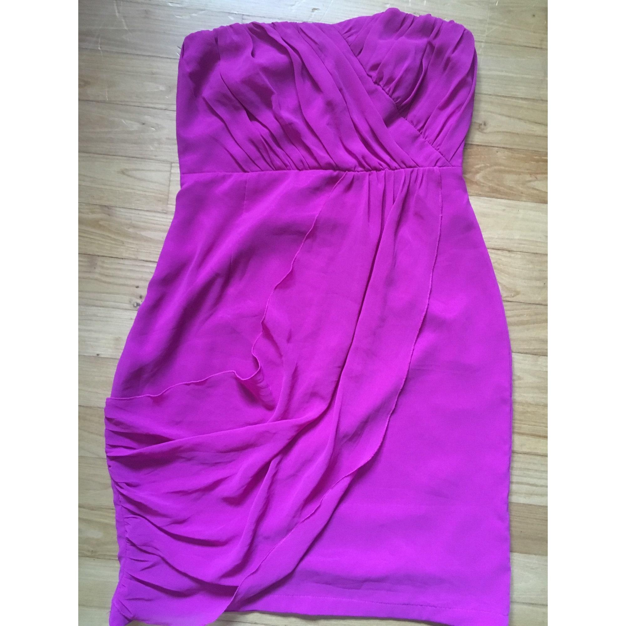 Robe bustier VILA Violet, mauve, lavande