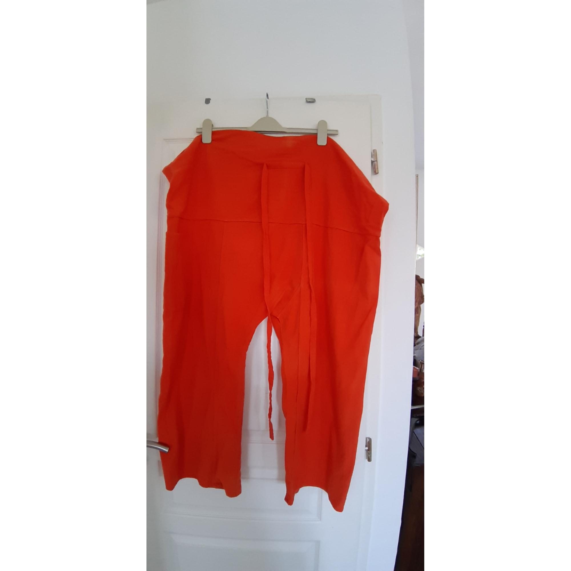 Sarouel MARQUE INCONNUE Orange