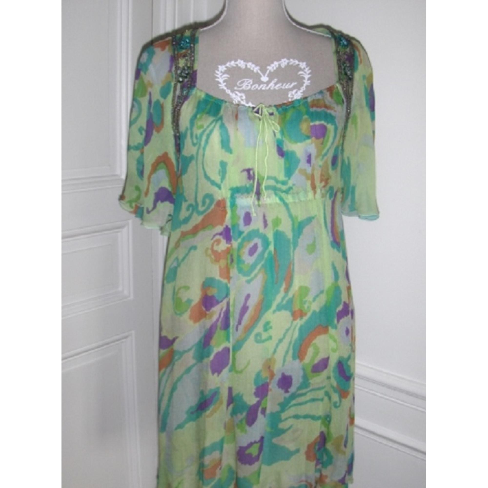 Robe tunique ANTIK BATIK Vert