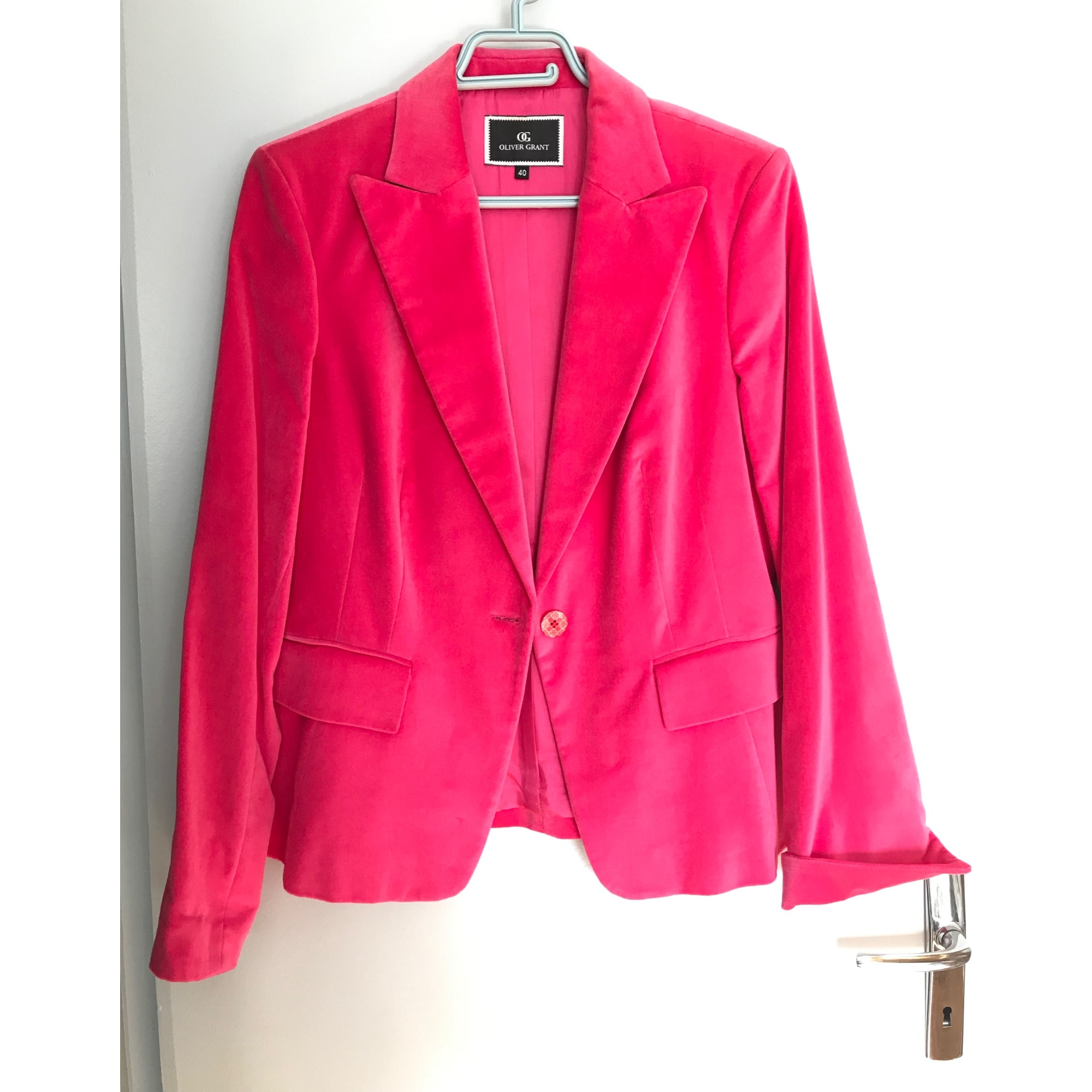 Blazer, veste tailleur OLIVIER GRANT Rose, fuschia, vieux rose