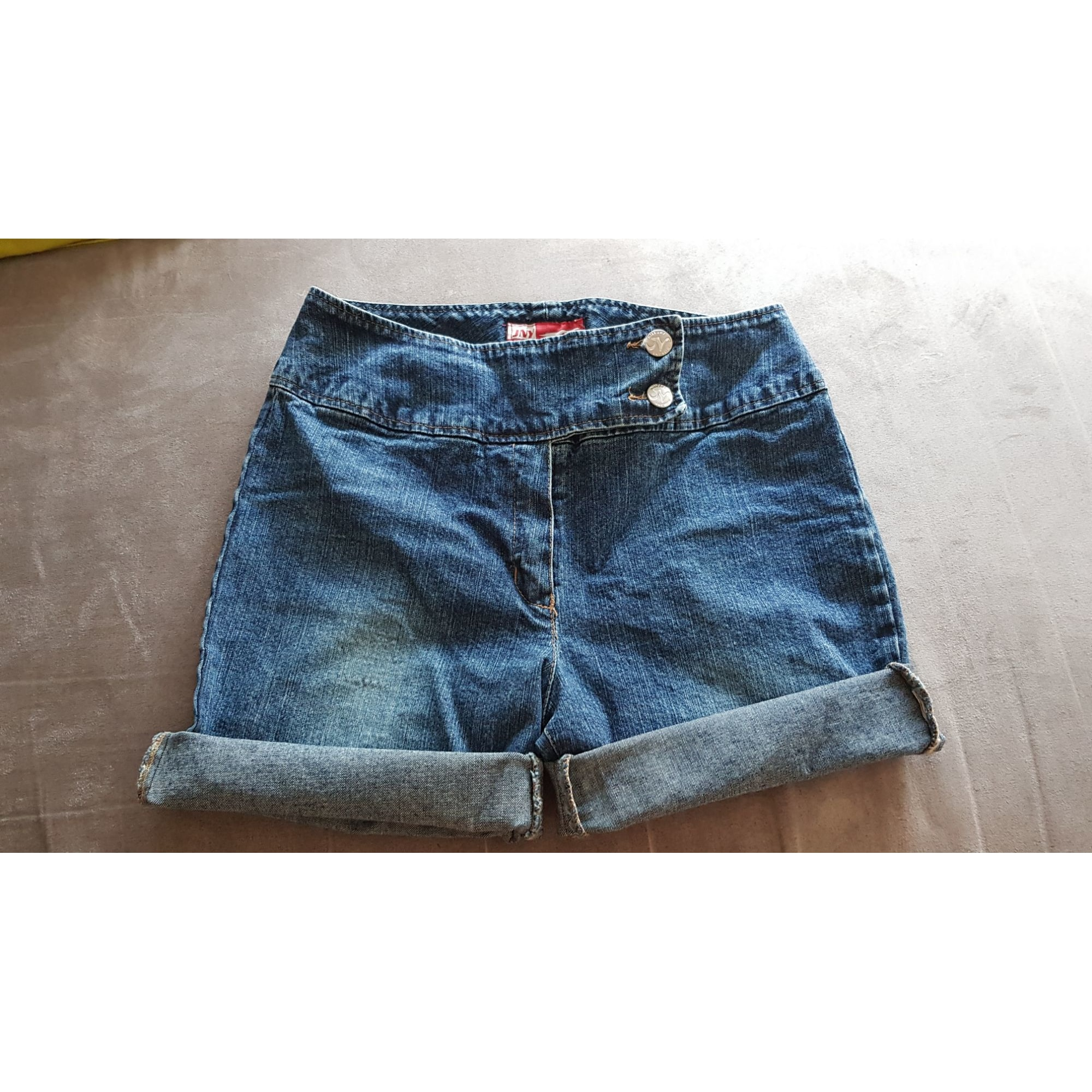 Short en jean JENNYFER Bleu, bleu marine, bleu turquoise