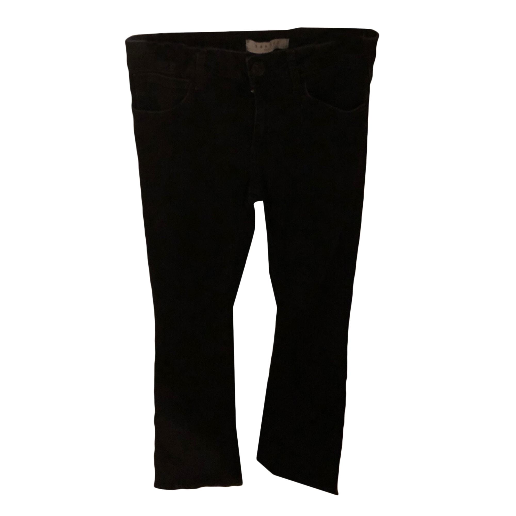 Jeans évasé, boot-cut SANDRO Noir