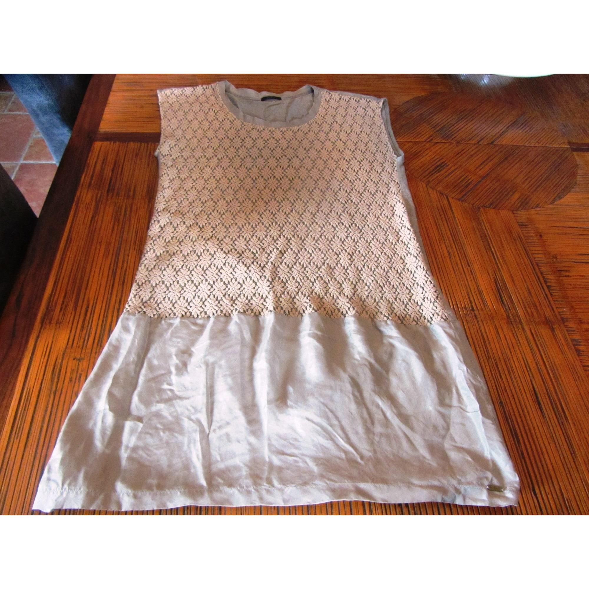 Robe tunique IKKS Kaki