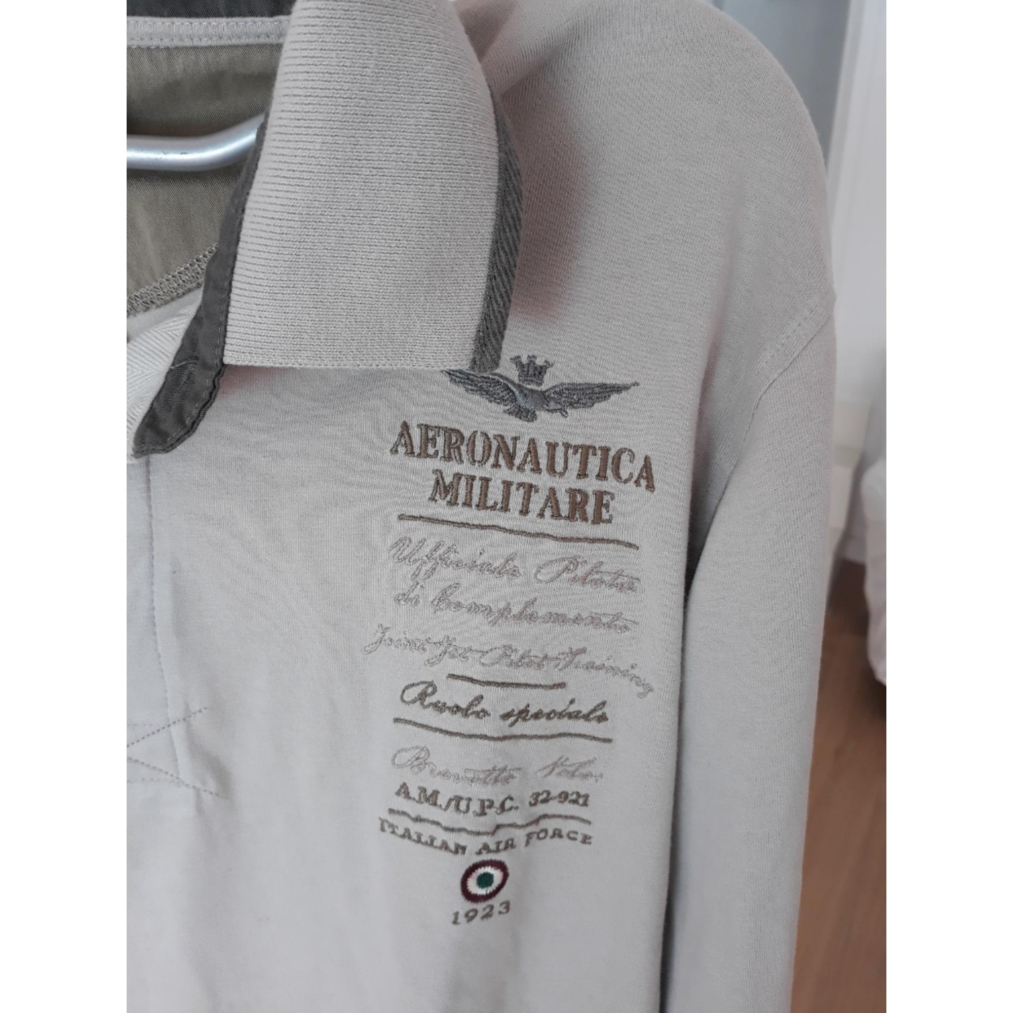 Polo AERONAUTICA MILITARE Gris, anthracite