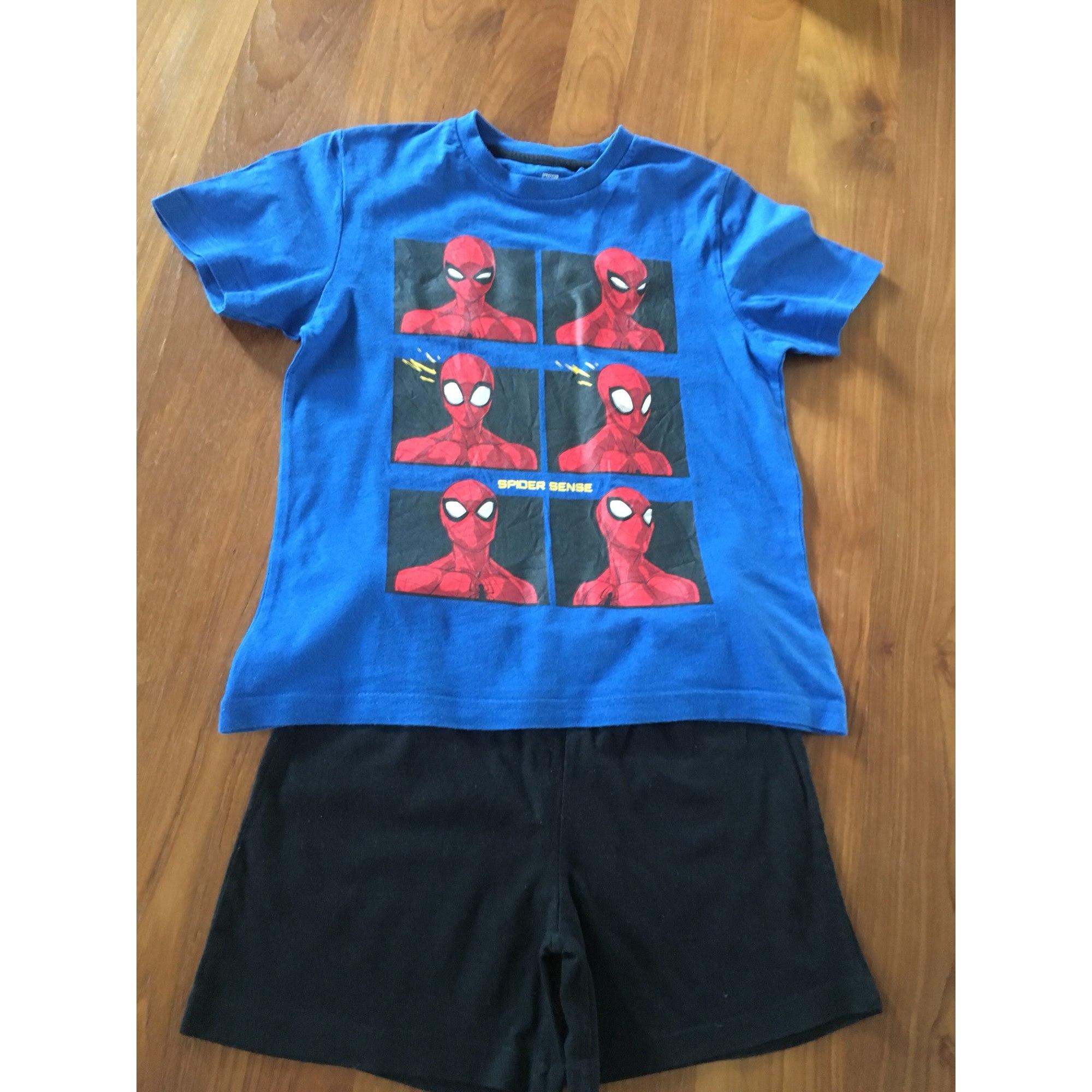 Pyjama SPIDERMAN Bleu, bleu marine, bleu turquoise