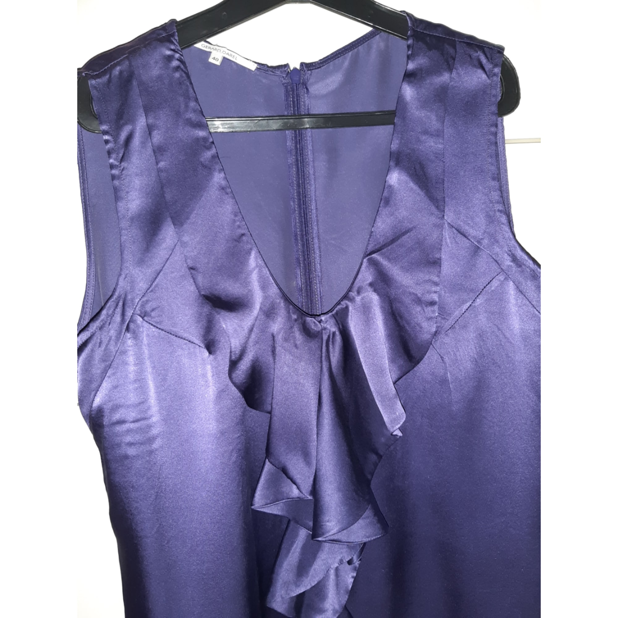 Top, tee-shirt GERARD DAREL Violet, mauve, lavande