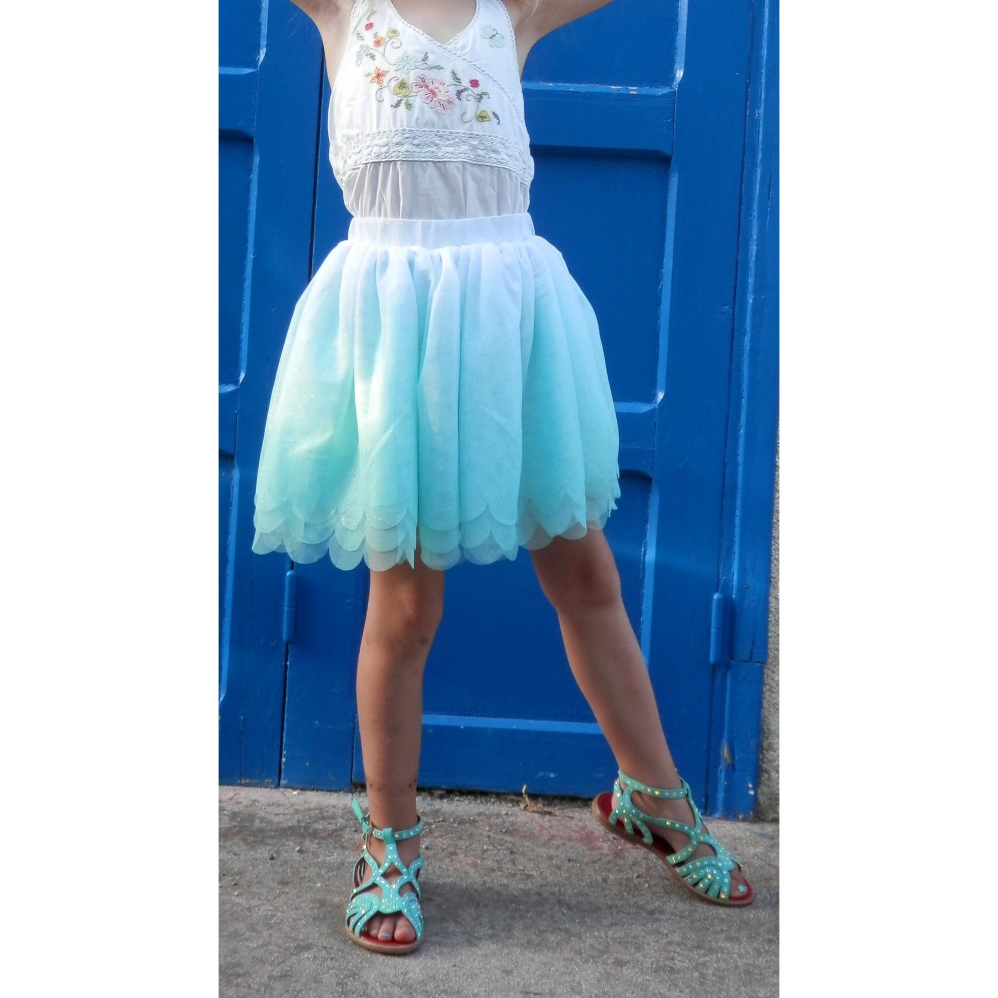Jupe H&M Bleu, bleu marine, bleu turquoise