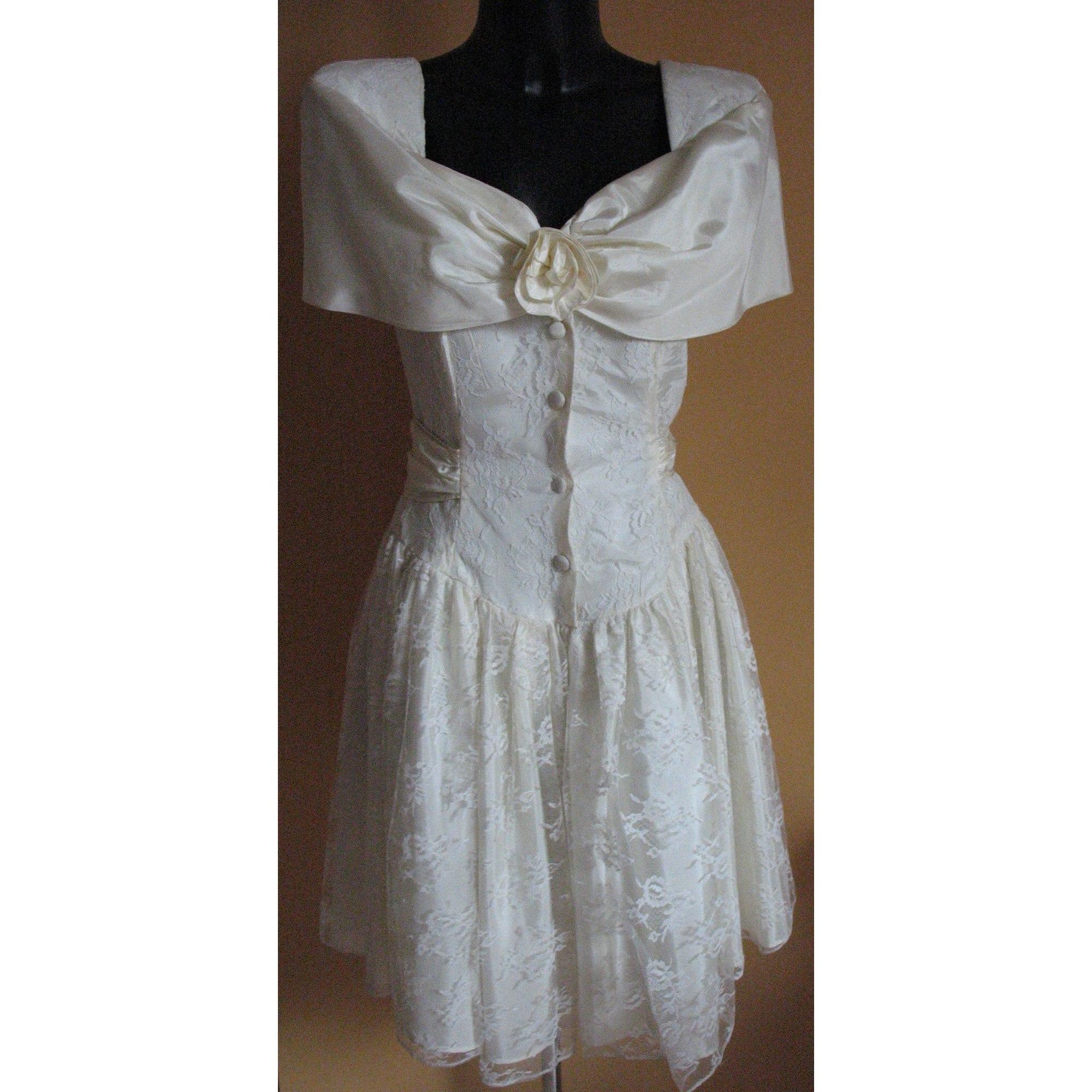 Robe mi-longue STEPPIN'OUT Blanc, blanc cassé, écru