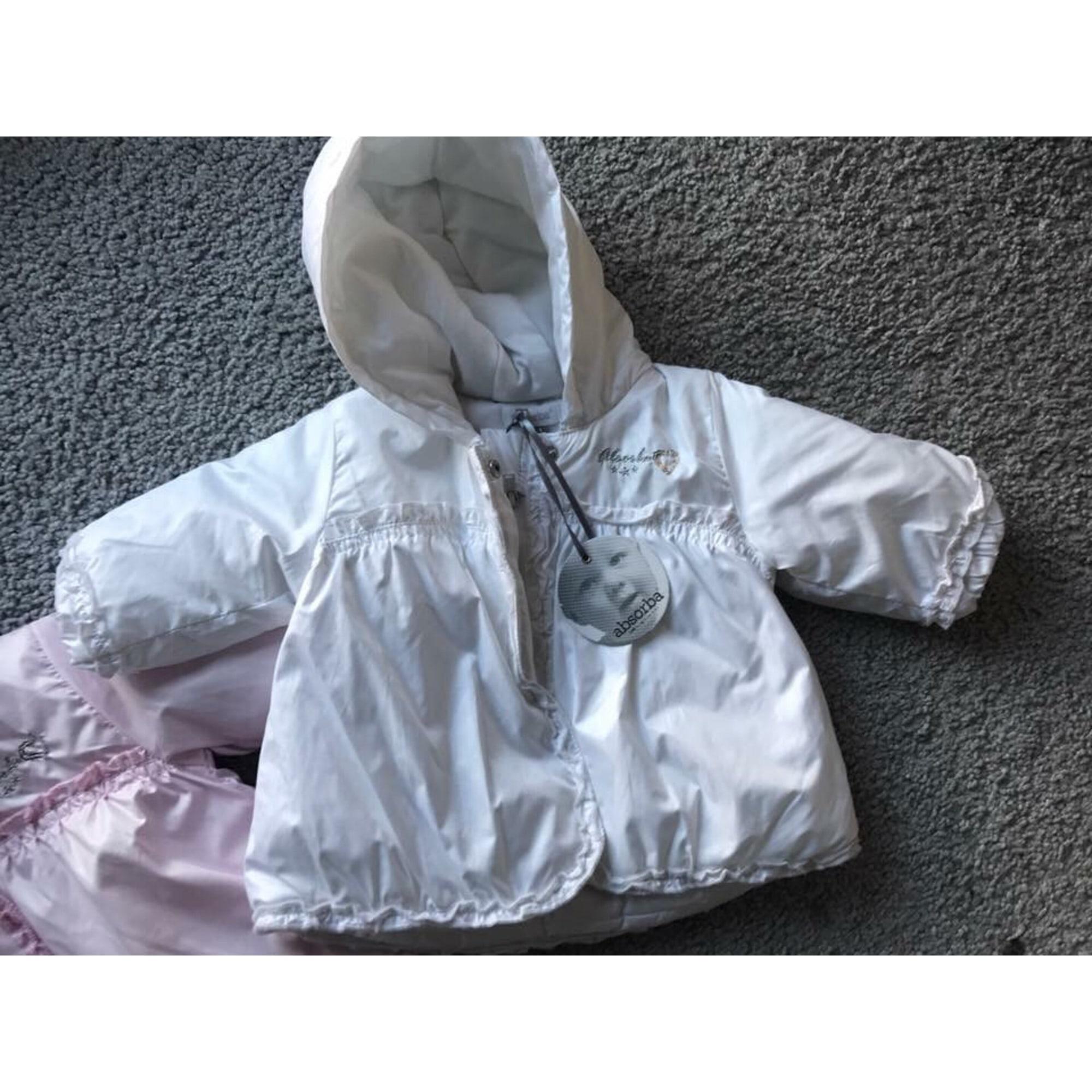 Veste ABSORBA Blanc, blanc cassé, écru