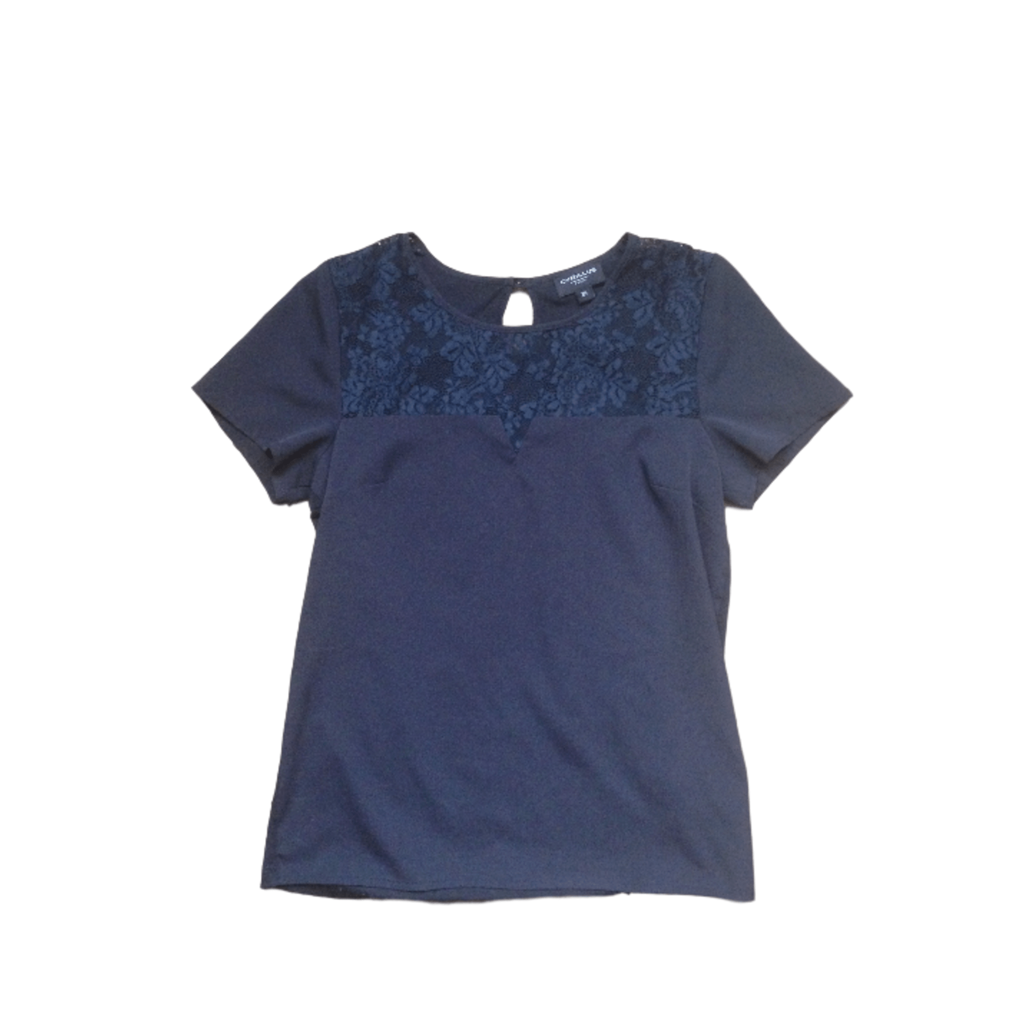 Blouse CYRILLUS Bleu, bleu marine, bleu turquoise