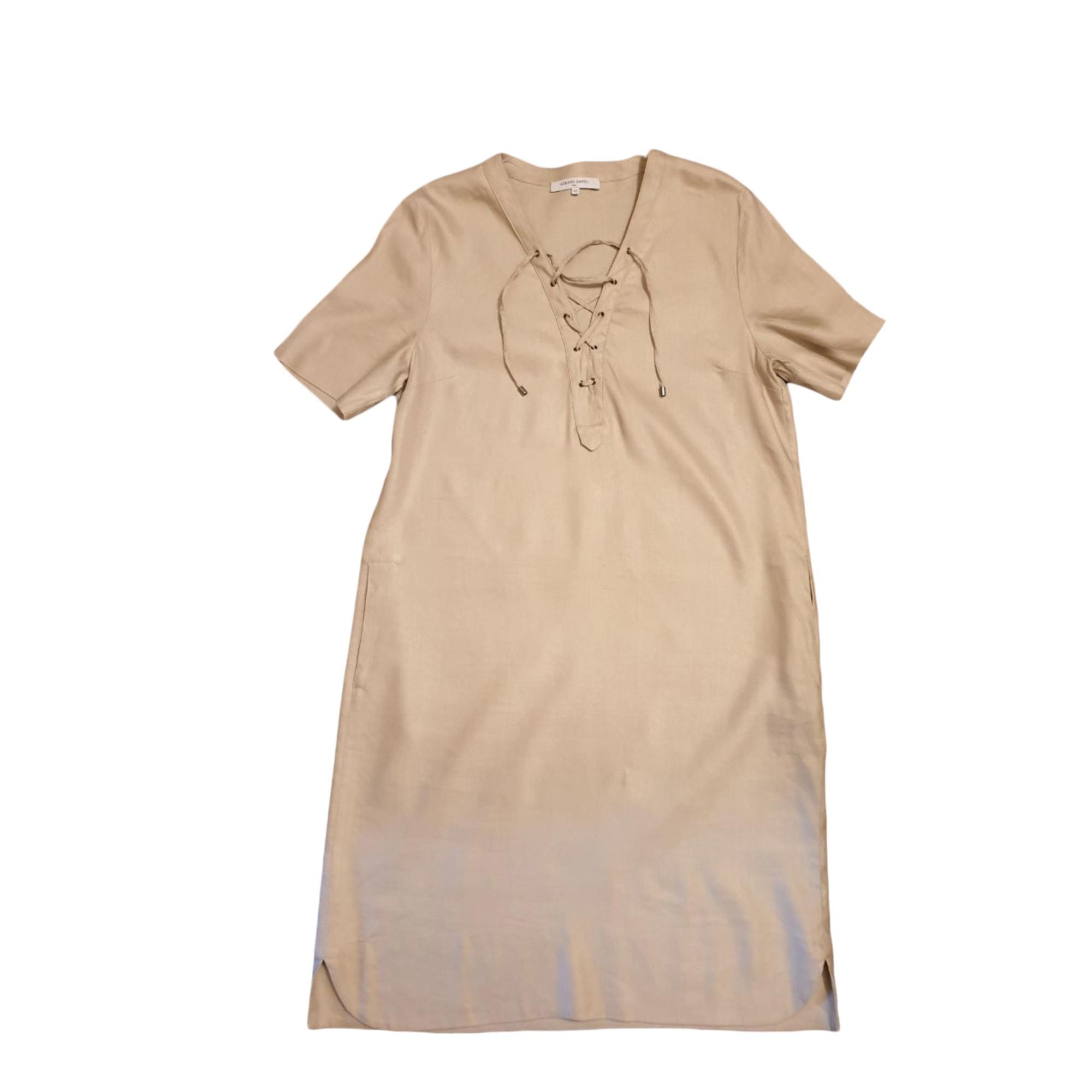 Robe mi-longue GERARD DAREL Beige, camel