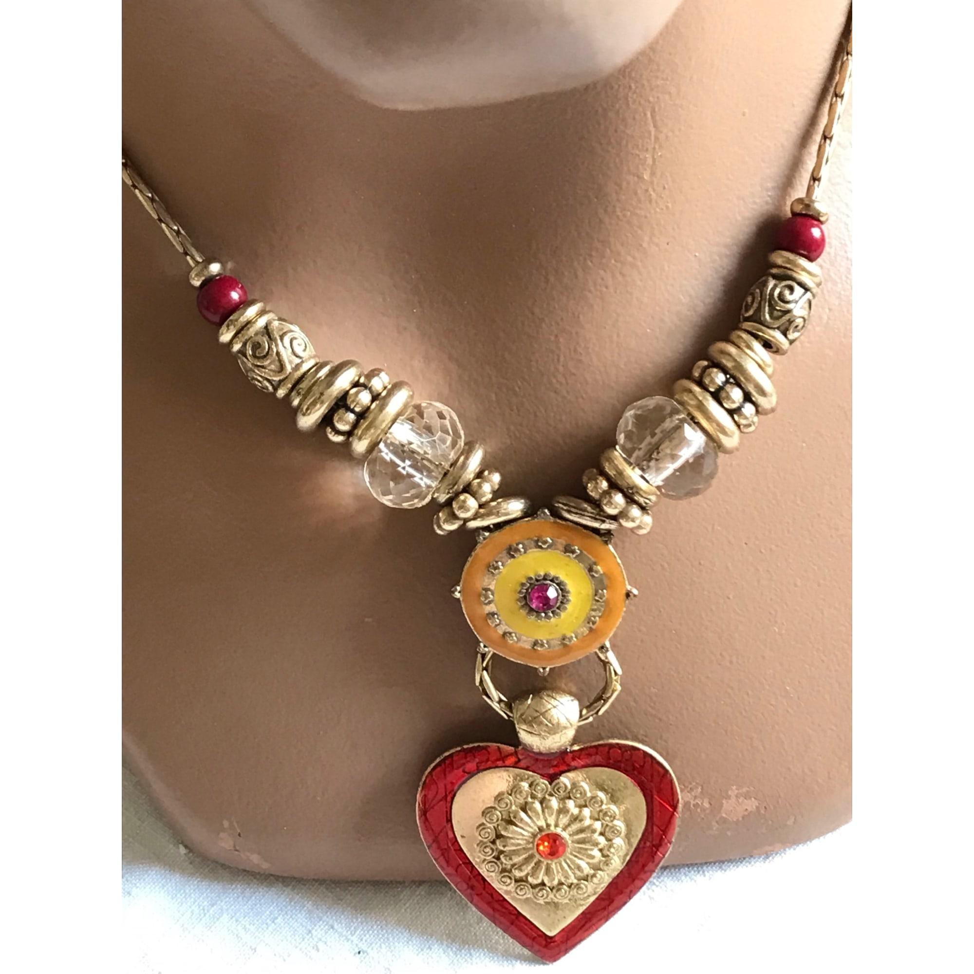 Pendentif, collier pendentif IKITA Multicouleur