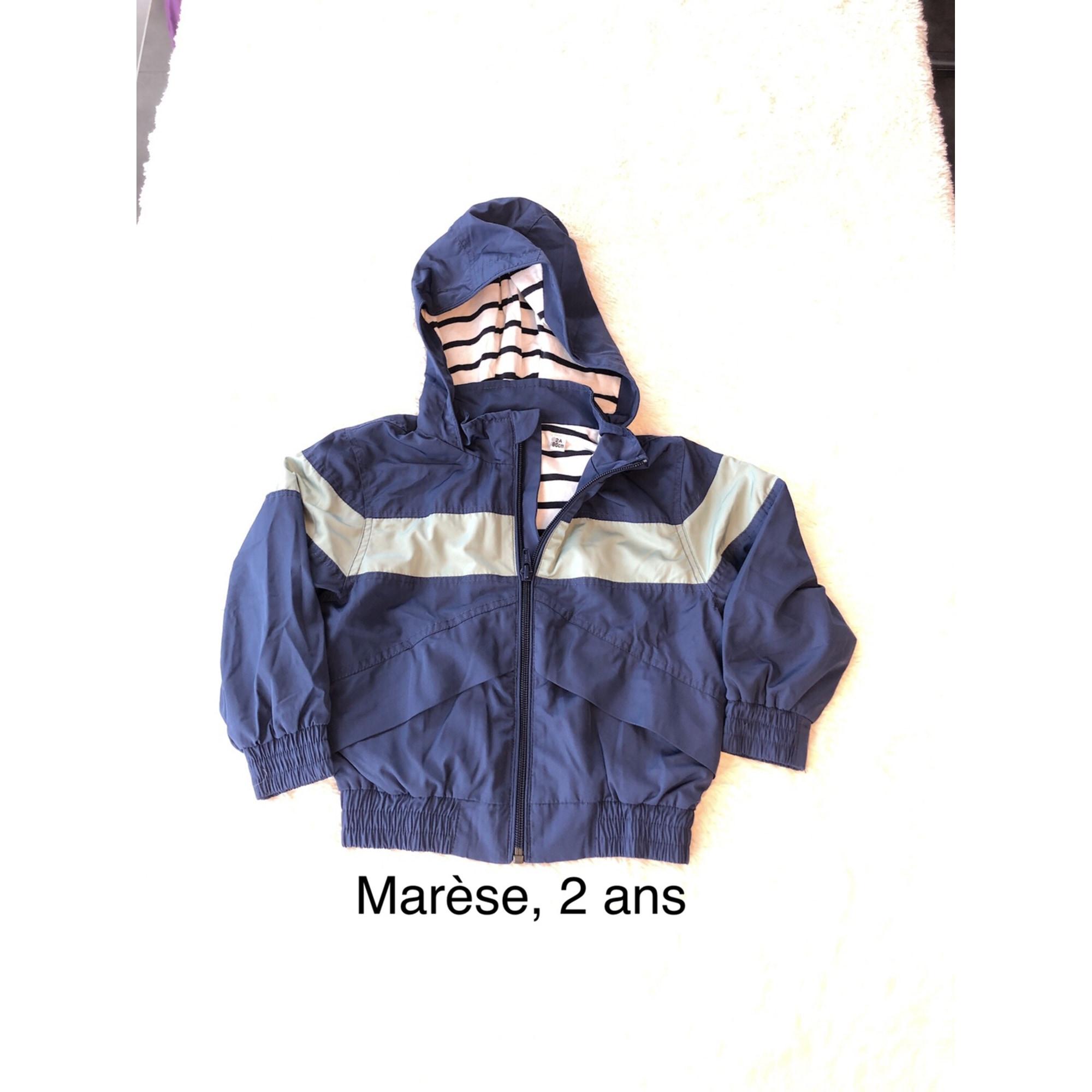 Imperméable MARÈSE Bleu, bleu marine, bleu turquoise