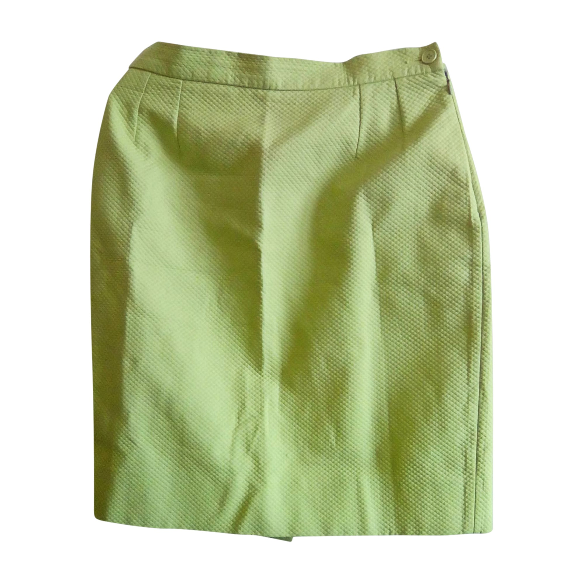 Tailleur jupe YVES SAINT LAURENT Vert