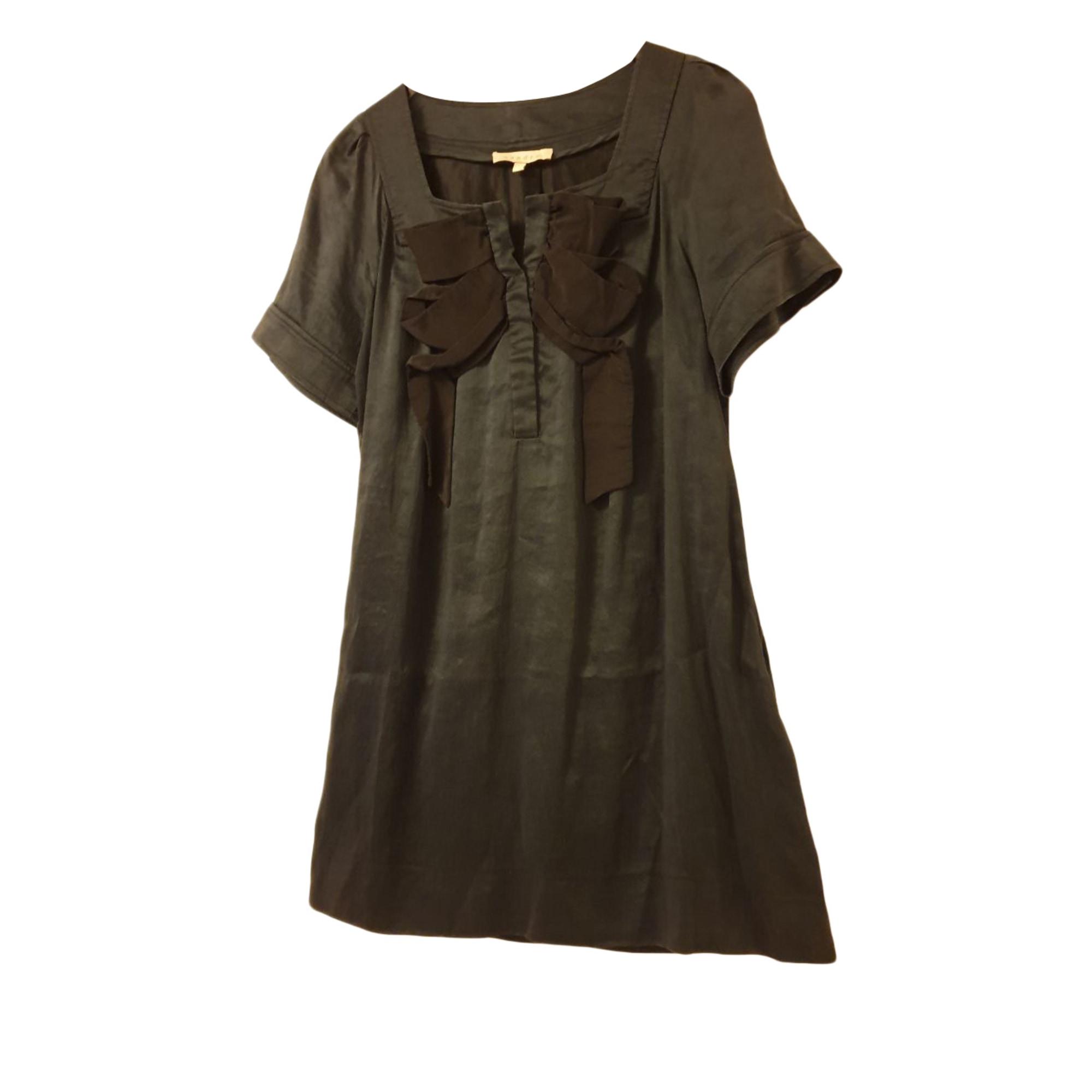 Robe tunique SANDRO Vert
