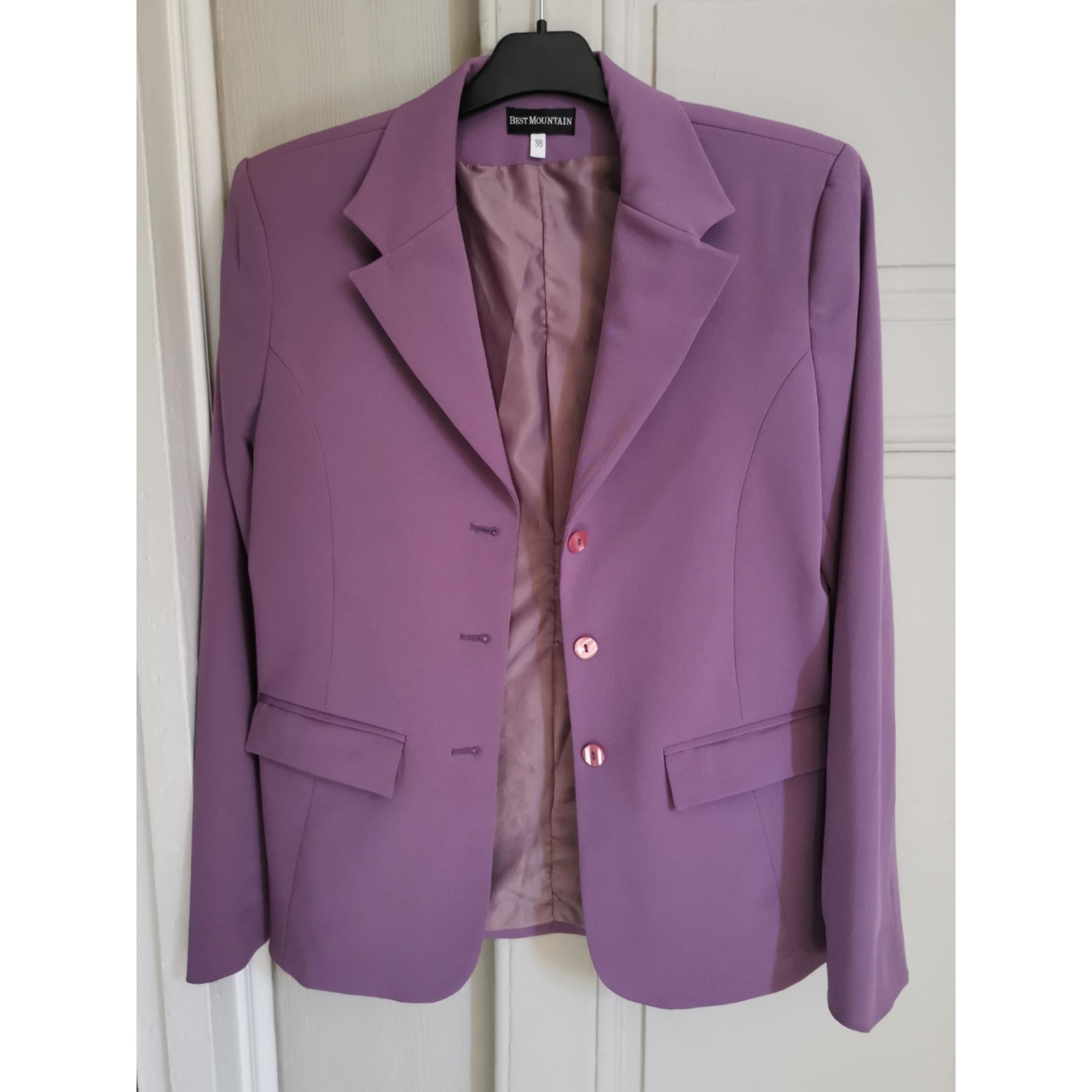 Blazer, veste tailleur BEST MOUNTAIN Violet, mauve, lavande