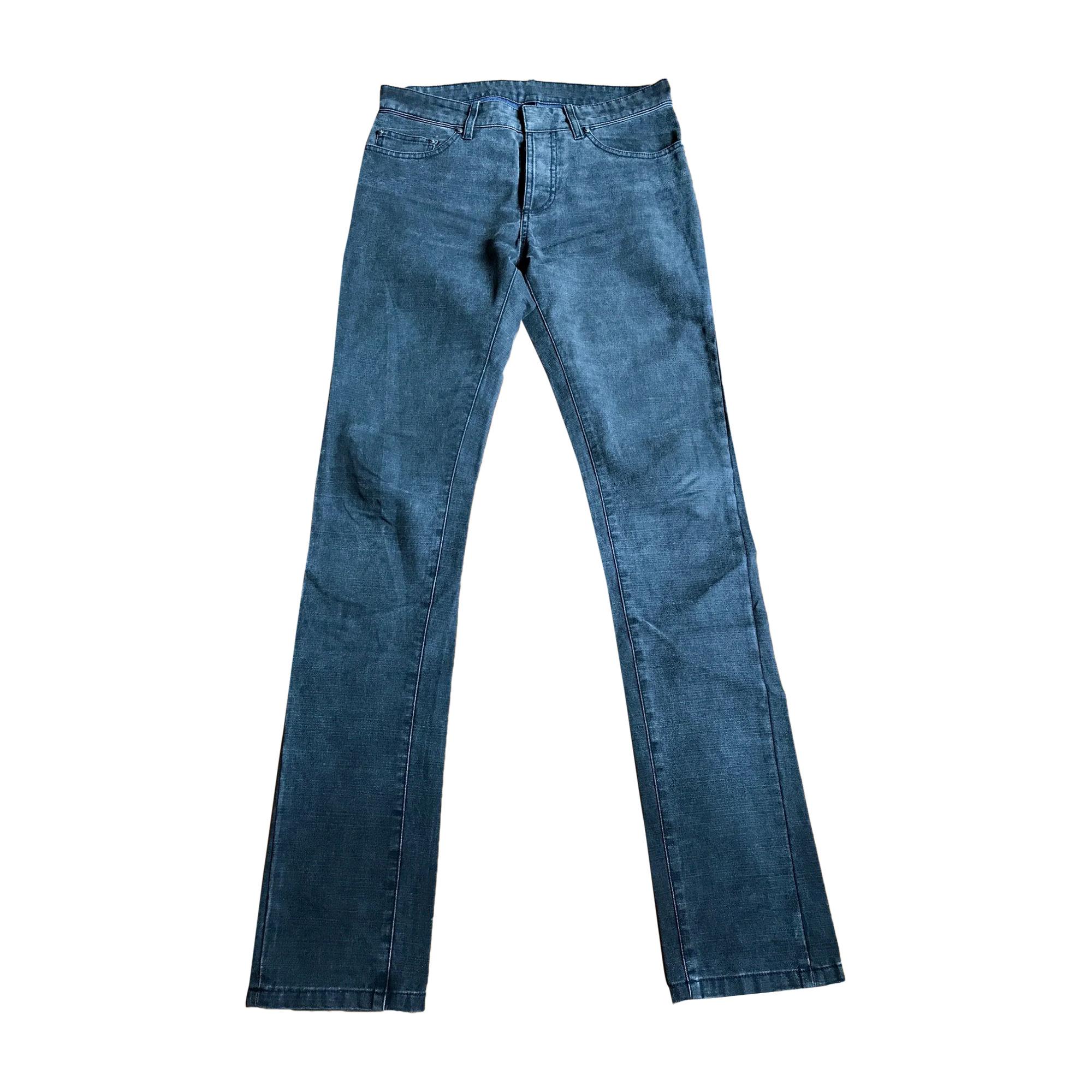 Jeans slim BALENCIAGA Gris, anthracite