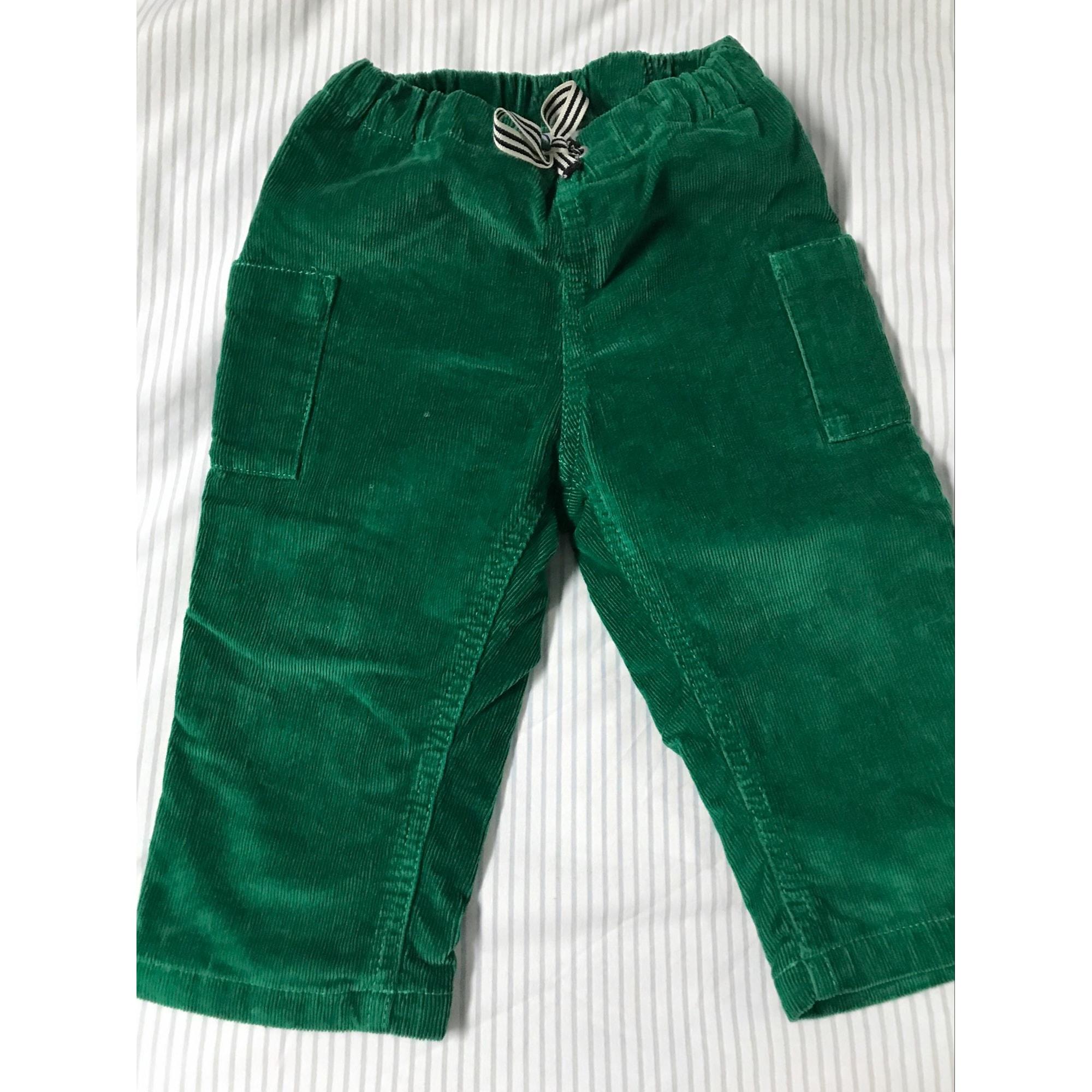 Pantalon PETIT BATEAU Vert