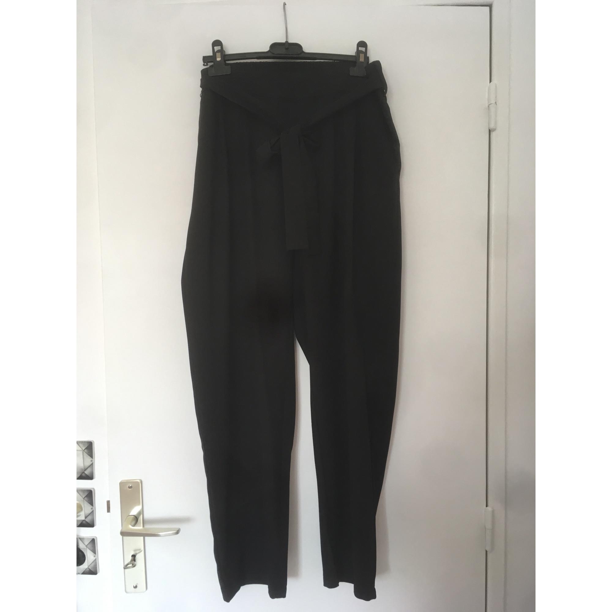 Pantalon droit SMASH Noir