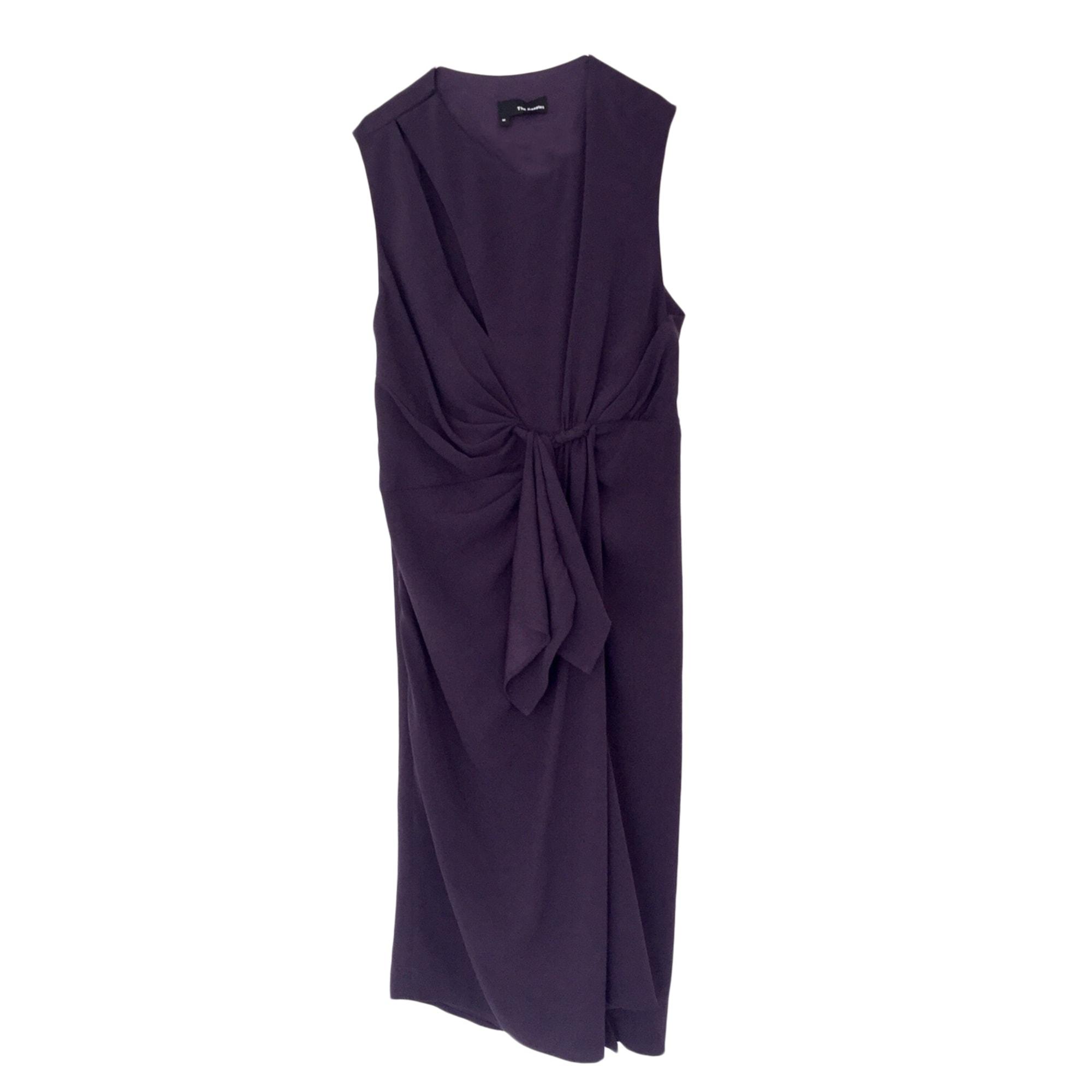 Robe mi-longue THE KOOPLES Violet, mauve, lavande