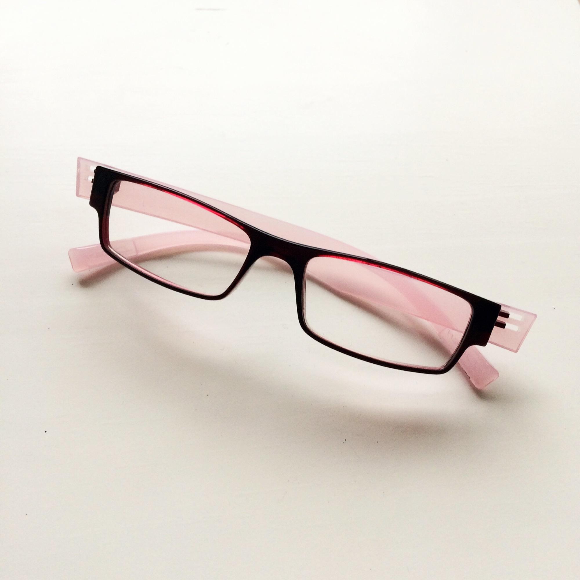 Monture de lunettes DILEM Rouge, bordeaux