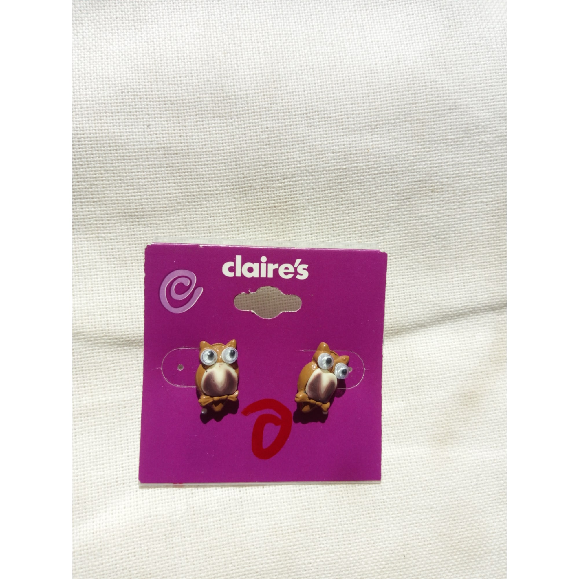 Earrings CLAIRE'S Brown