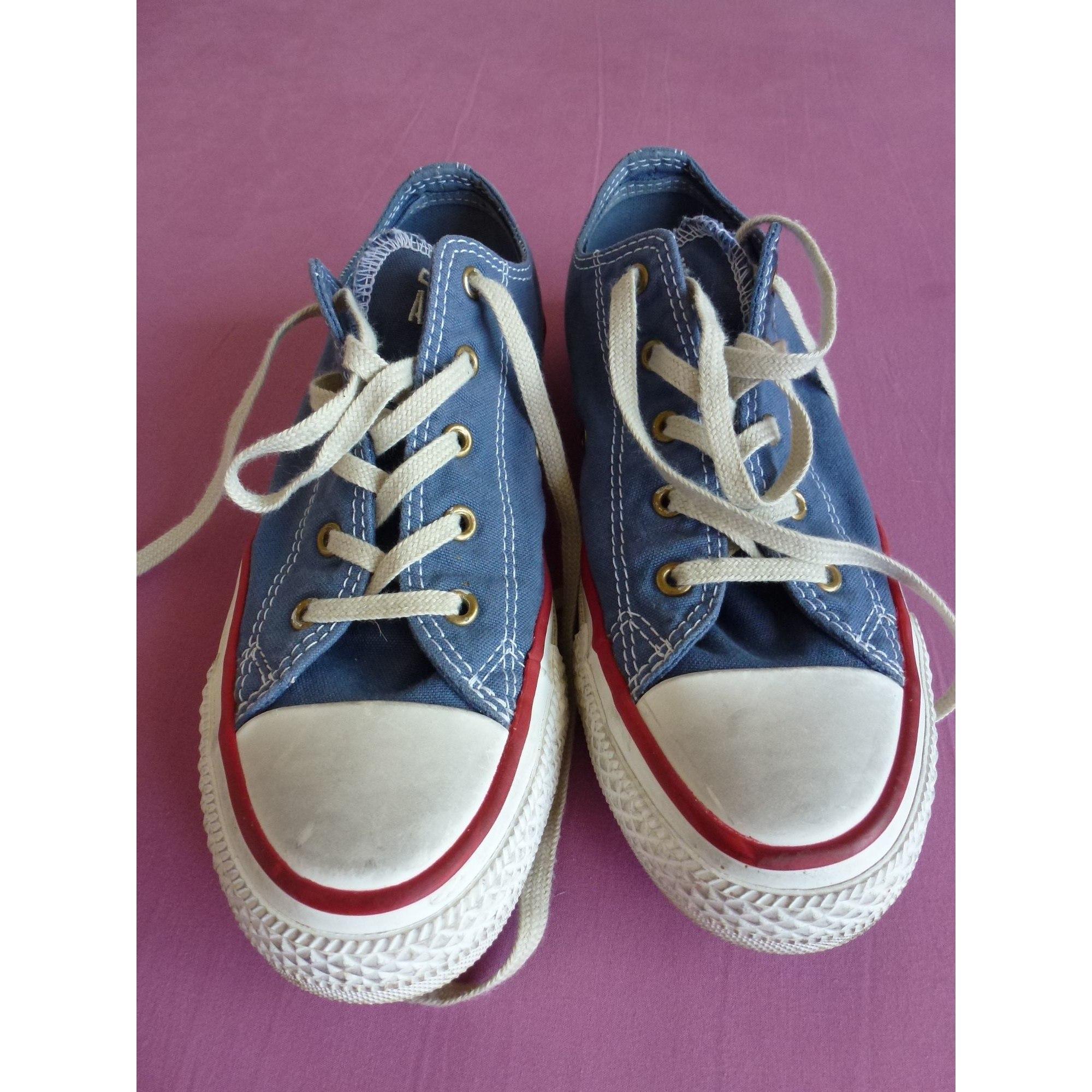 Baskets CONVERSE Bleu, bleu marine, bleu turquoise