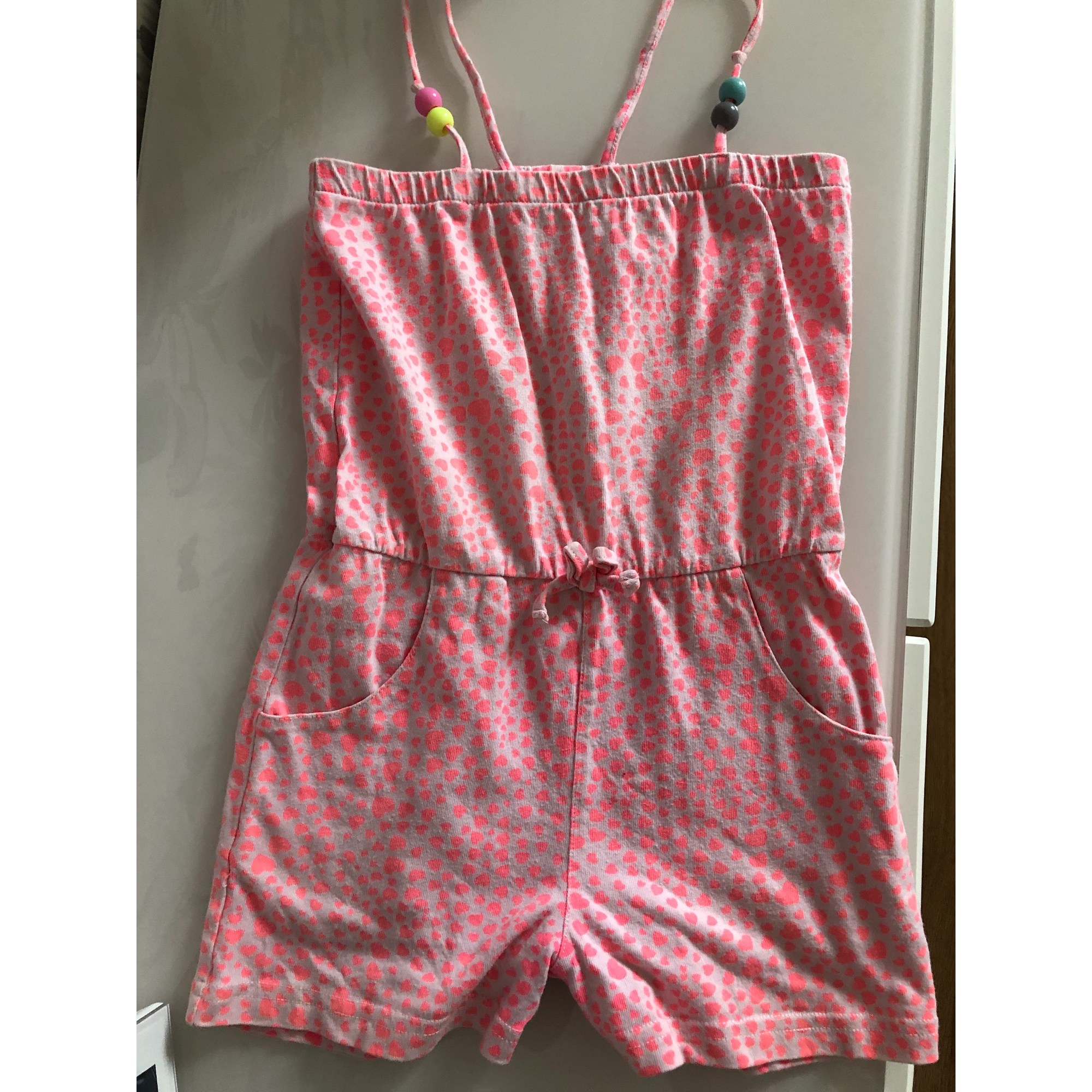 Ensemble & Combinaison short H&M Rose, fuschia, vieux rose