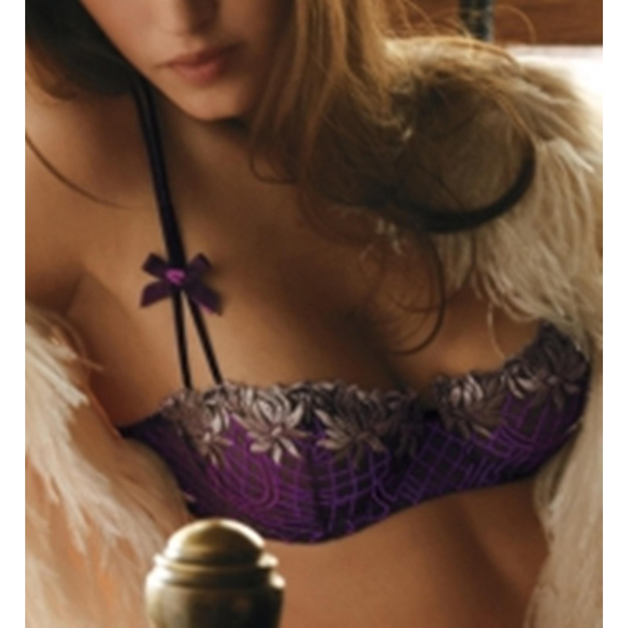 Soutien gorge à armatures AUBADE Violet, mauve, lavande