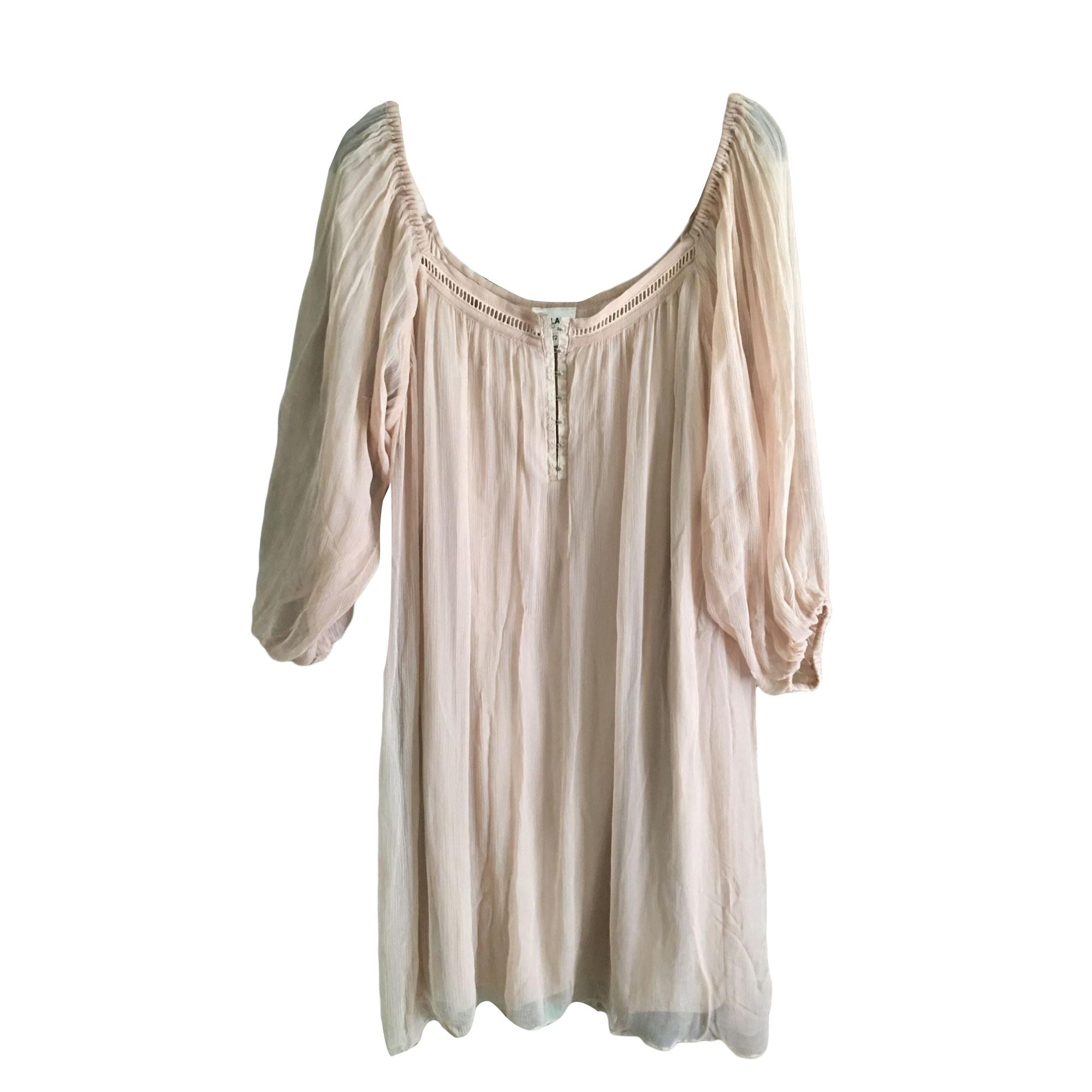 Robe courte BEL AIR Beige, camel