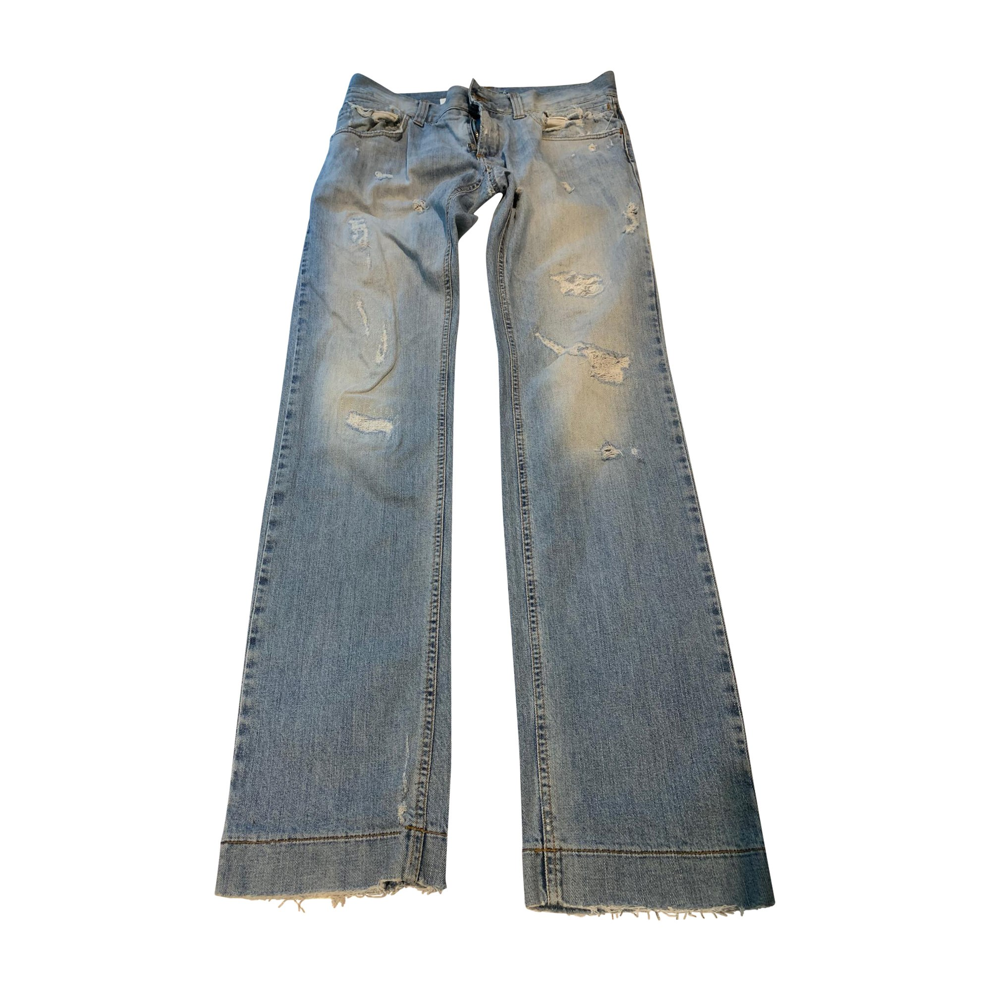 Skinny Jeans DOLCE & GABBANA Blue, navy, turquoise