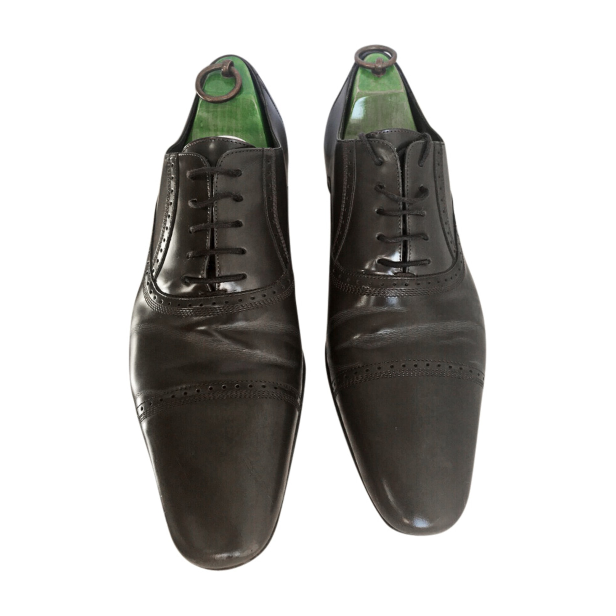Lace Up Shoes DOLCE & GABBANA Gray, charcoal