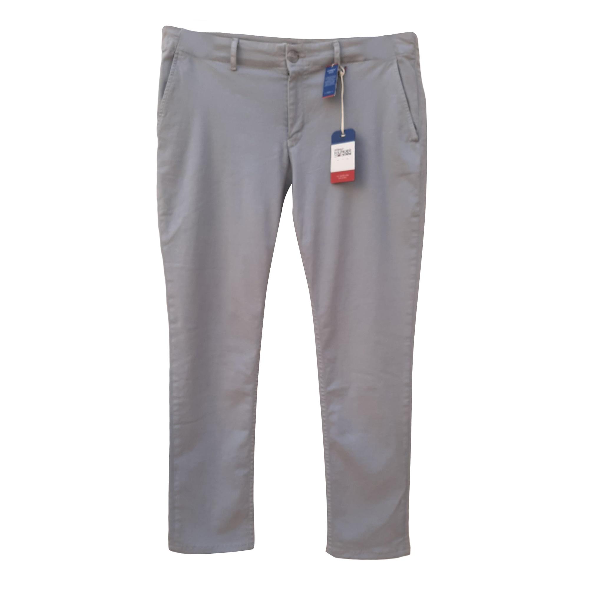 Jeans slim TOMMY HILFIGER Gris, anthracite